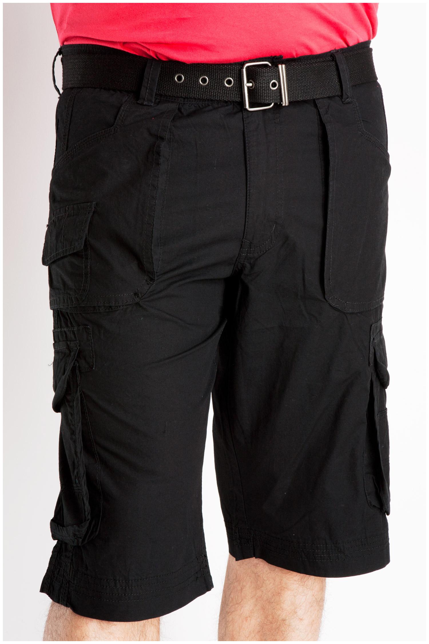 Pantalones, Bermudas, 106840, NEGRO | Zoom