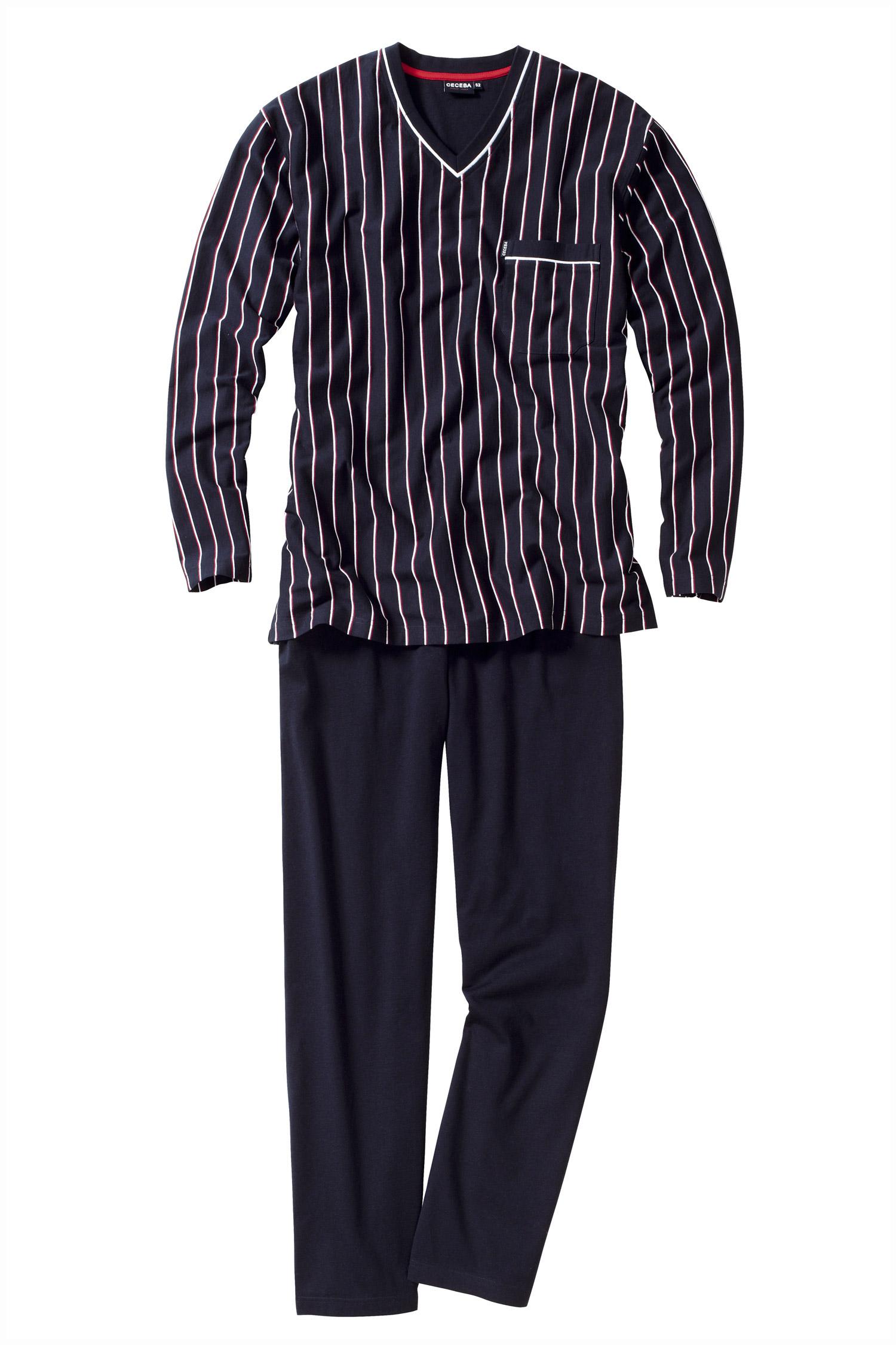 Homewear, Pijama M. Larga, 106877, MARINO | Zoom