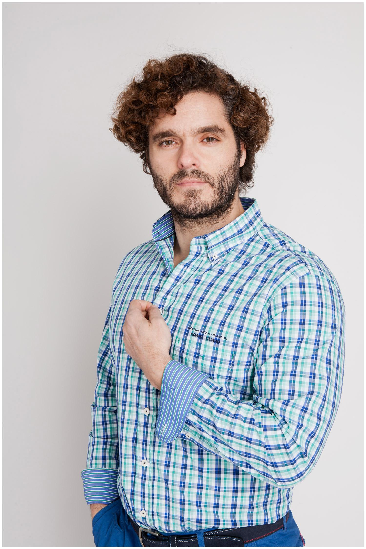 Camisas, Sport Manga Larga, 106918, MENTA | Zoom