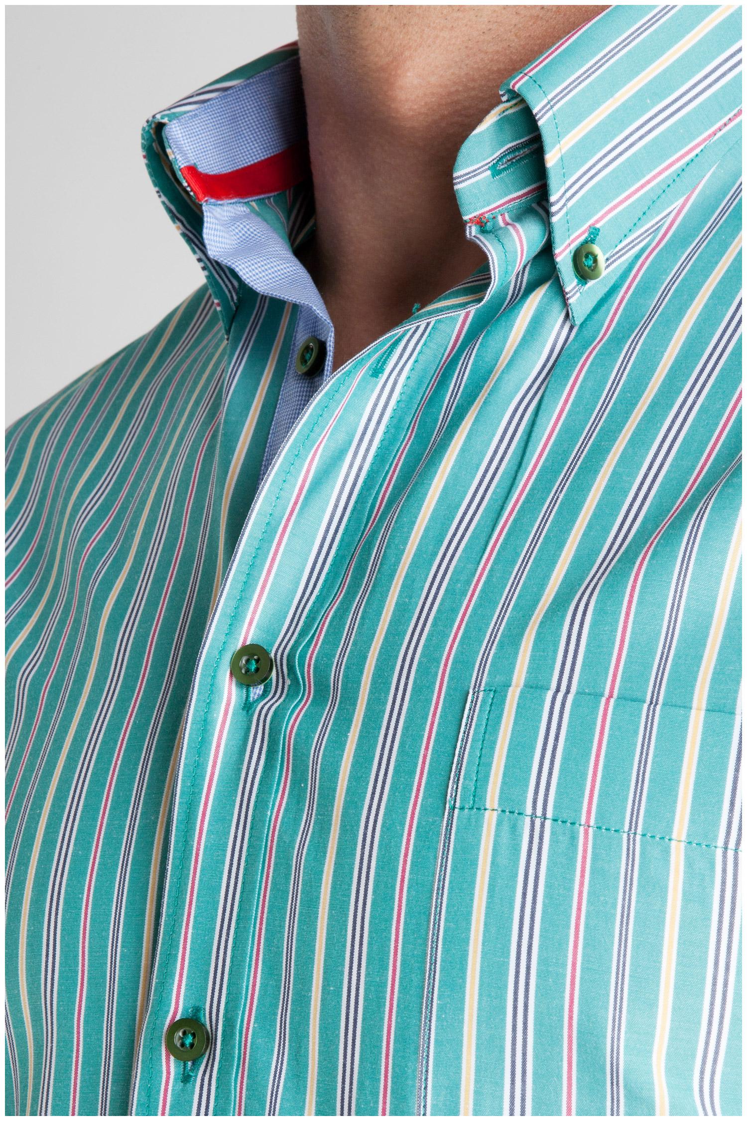 Camisas, Sport Manga Corta, 106931, VERDE | Zoom