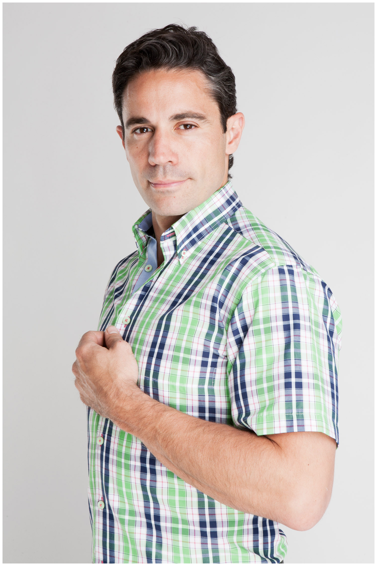 Camisas, Sport Manga Corta, 106933, VERDE | Zoom