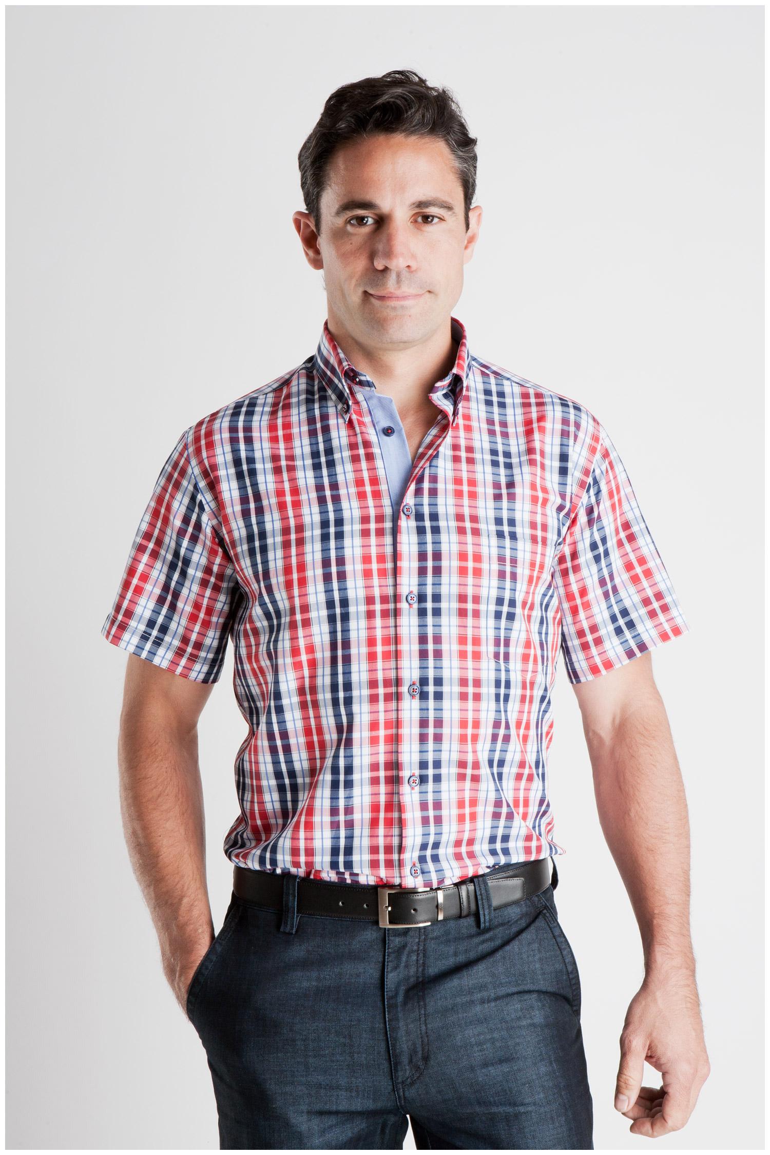 Camisas, Sport Manga Corta, 106933, MARINO | Zoom