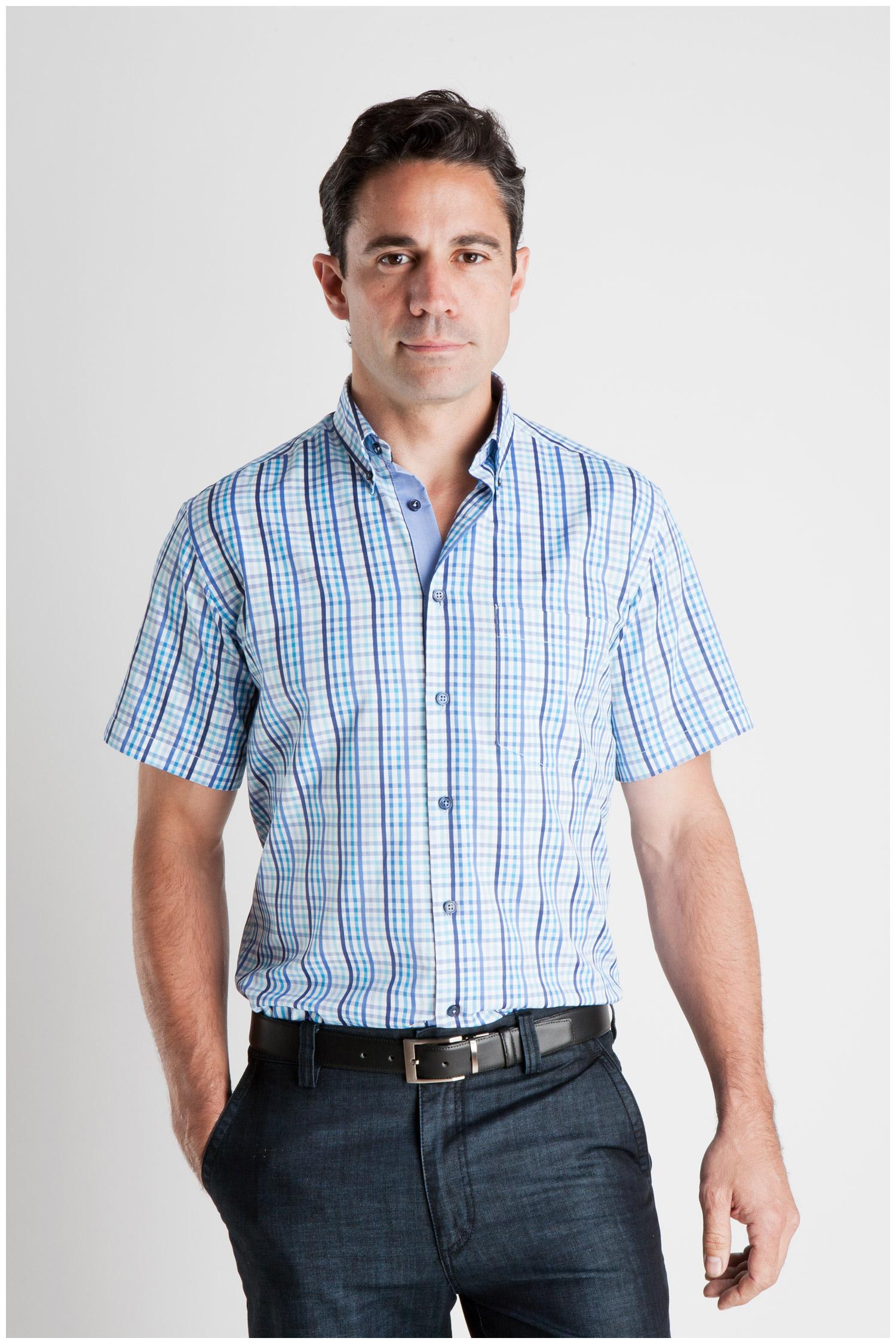 Camisas, Sport Manga Corta, 106934, MARINO | Zoom