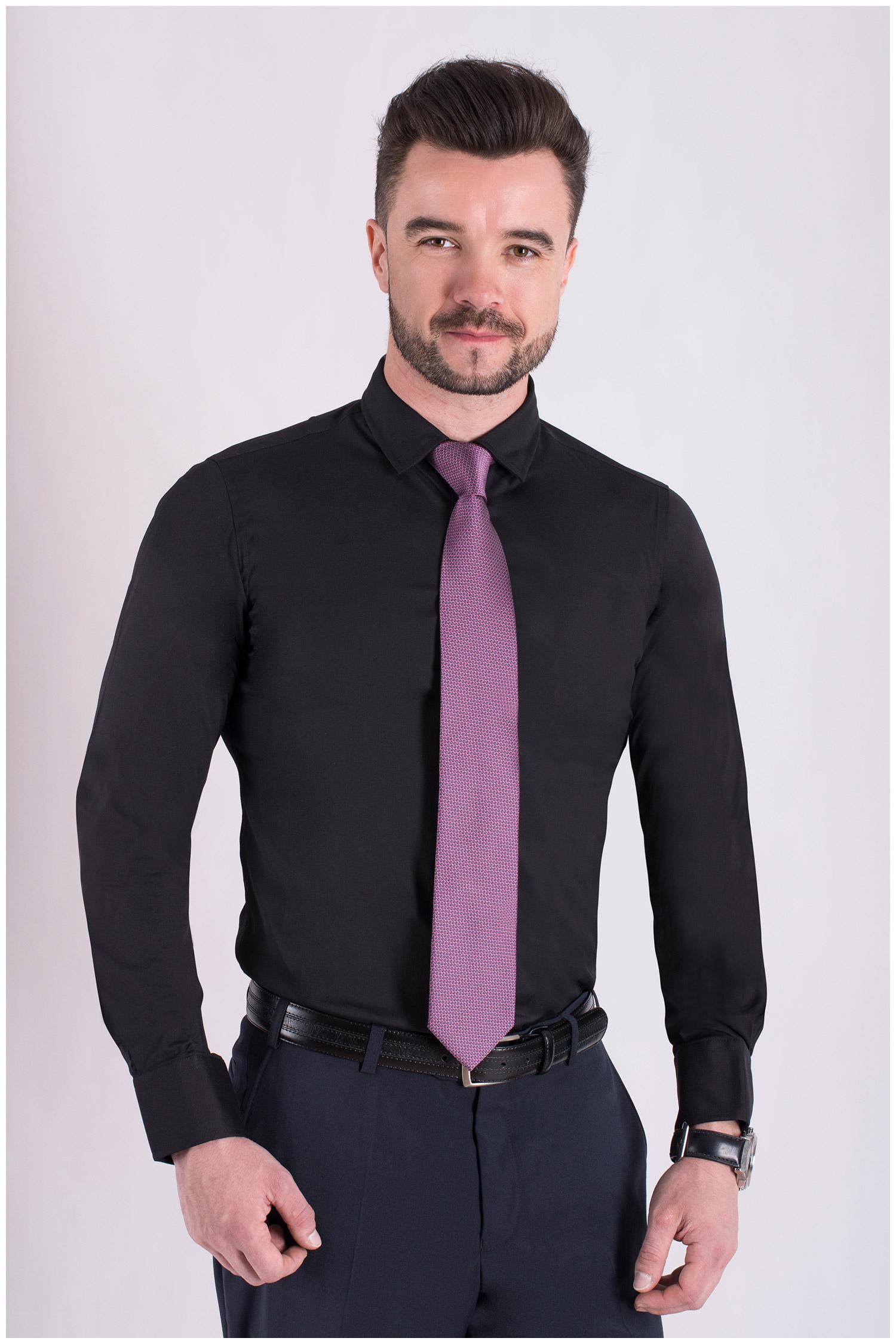 Camisas, Vestir Manga Larga, 106939, NEGRO | Zoom