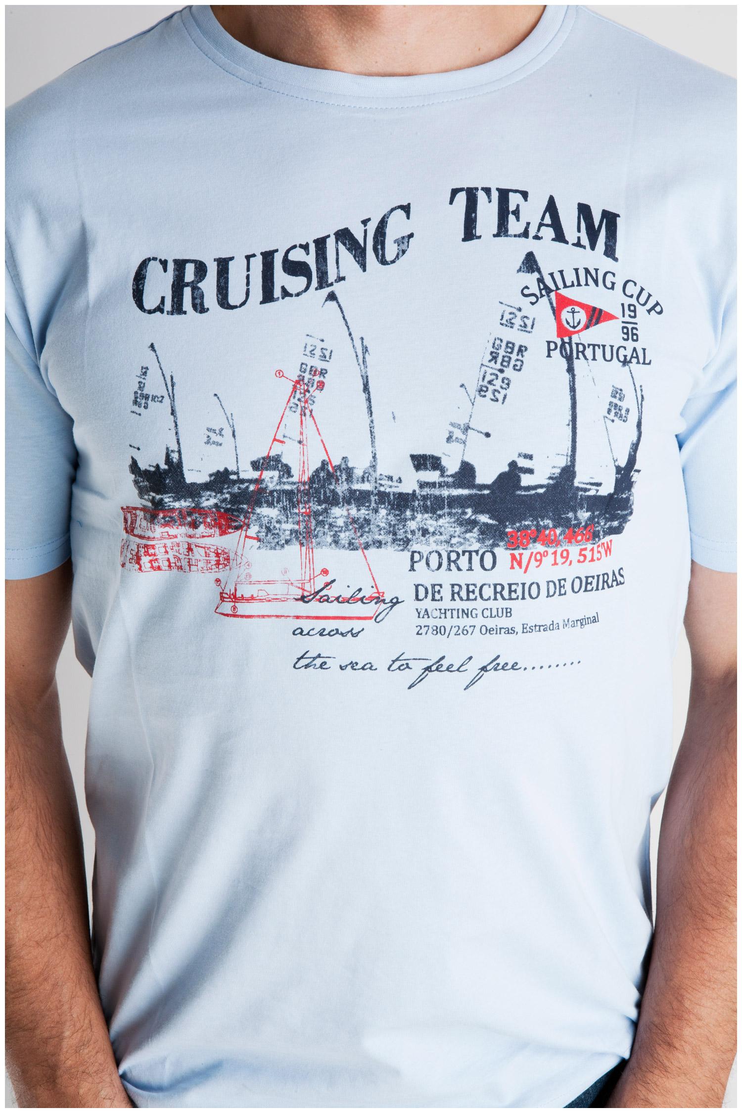 Sport, Camisetas M. Corta, 106991, CELESTE | Zoom