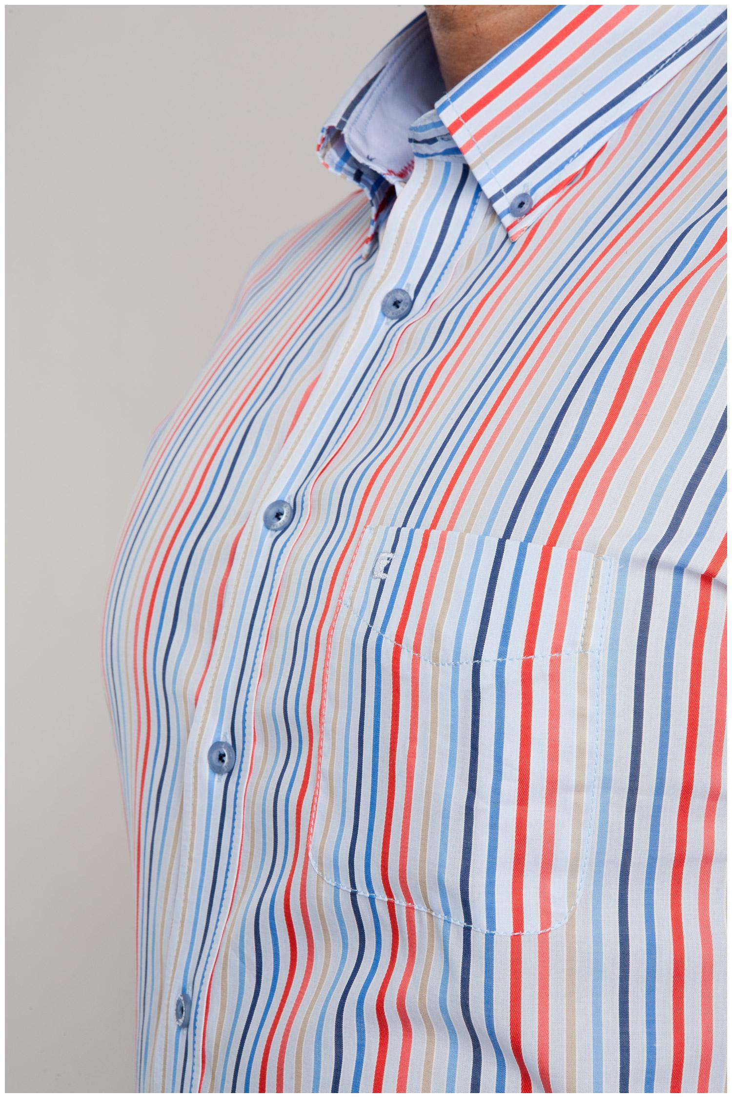 Camisas, Sport Manga Corta, 107009, ROJO | Zoom