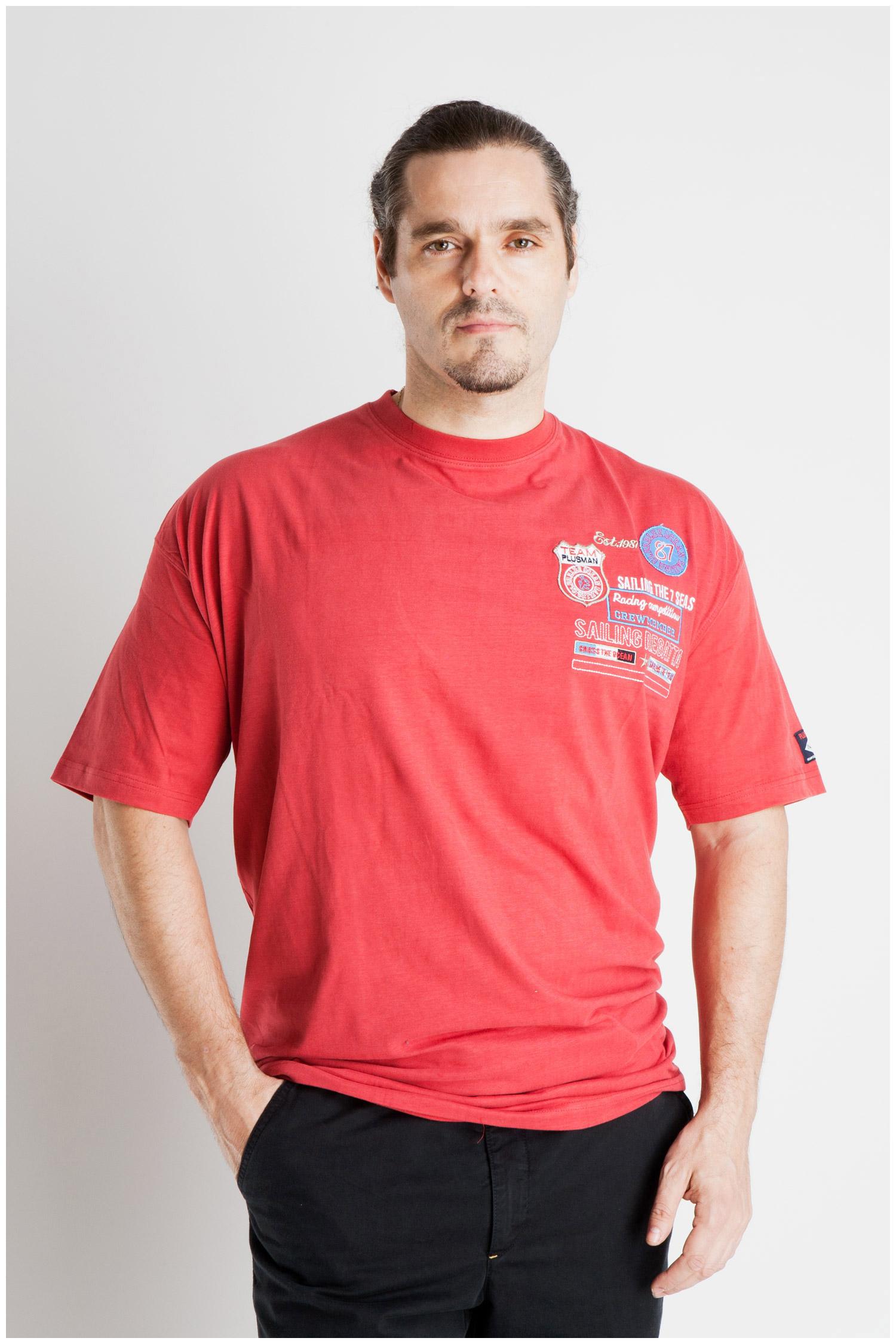 Sport, Camisetas M. Corta, 107068, ROJO | Zoom