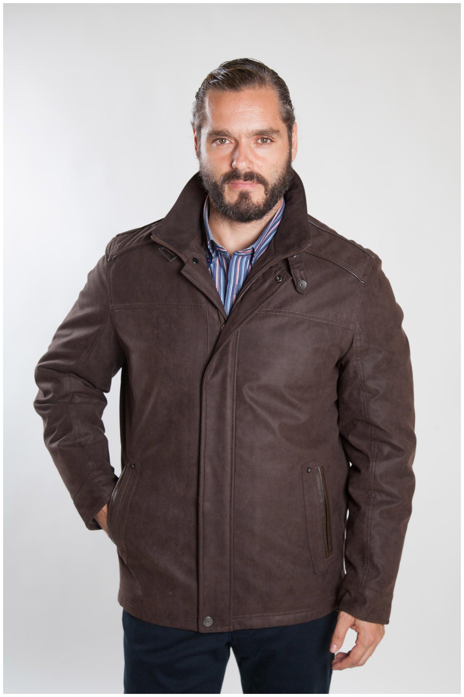 Abrigo, Chaquetones y Piel, 107081, MARRON | Zoom