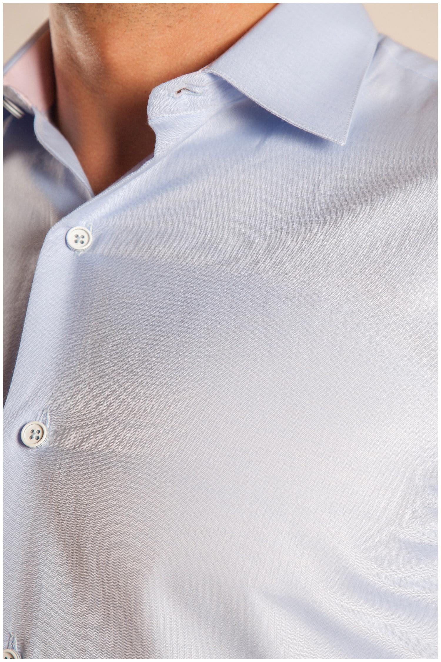 Camisas, Vestir Manga Larga, 107090, CELESTE | Zoom
