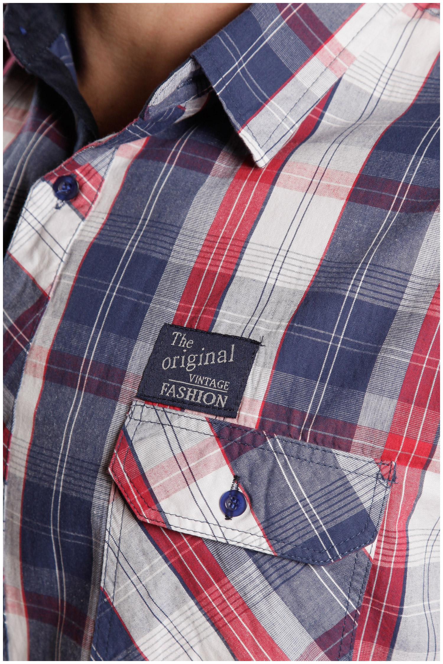 Camisas, Sport Manga Larga, 107103, MARINO | Zoom