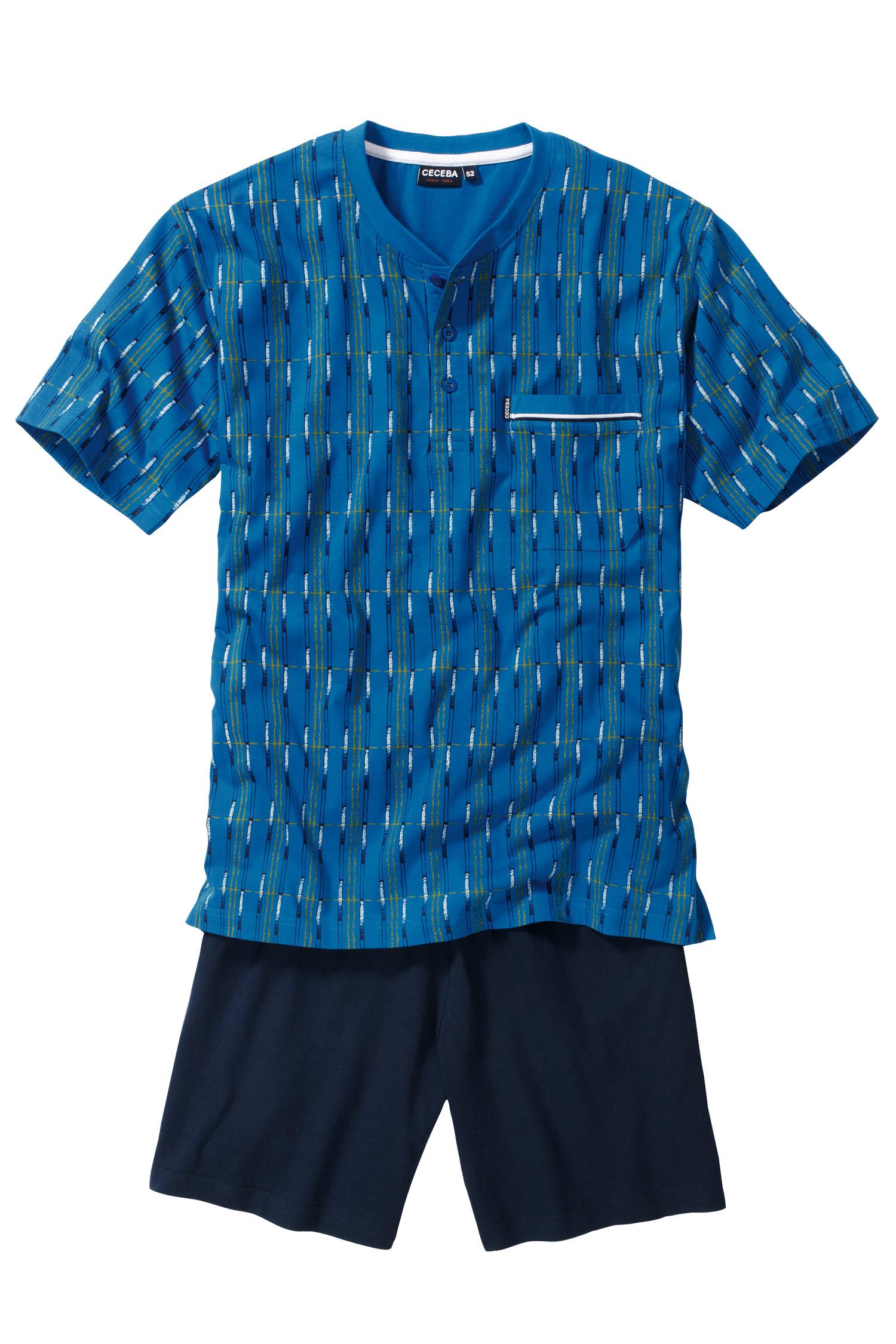 Homewear, Pijama M. Corta, 107114, ROYAL | Zoom