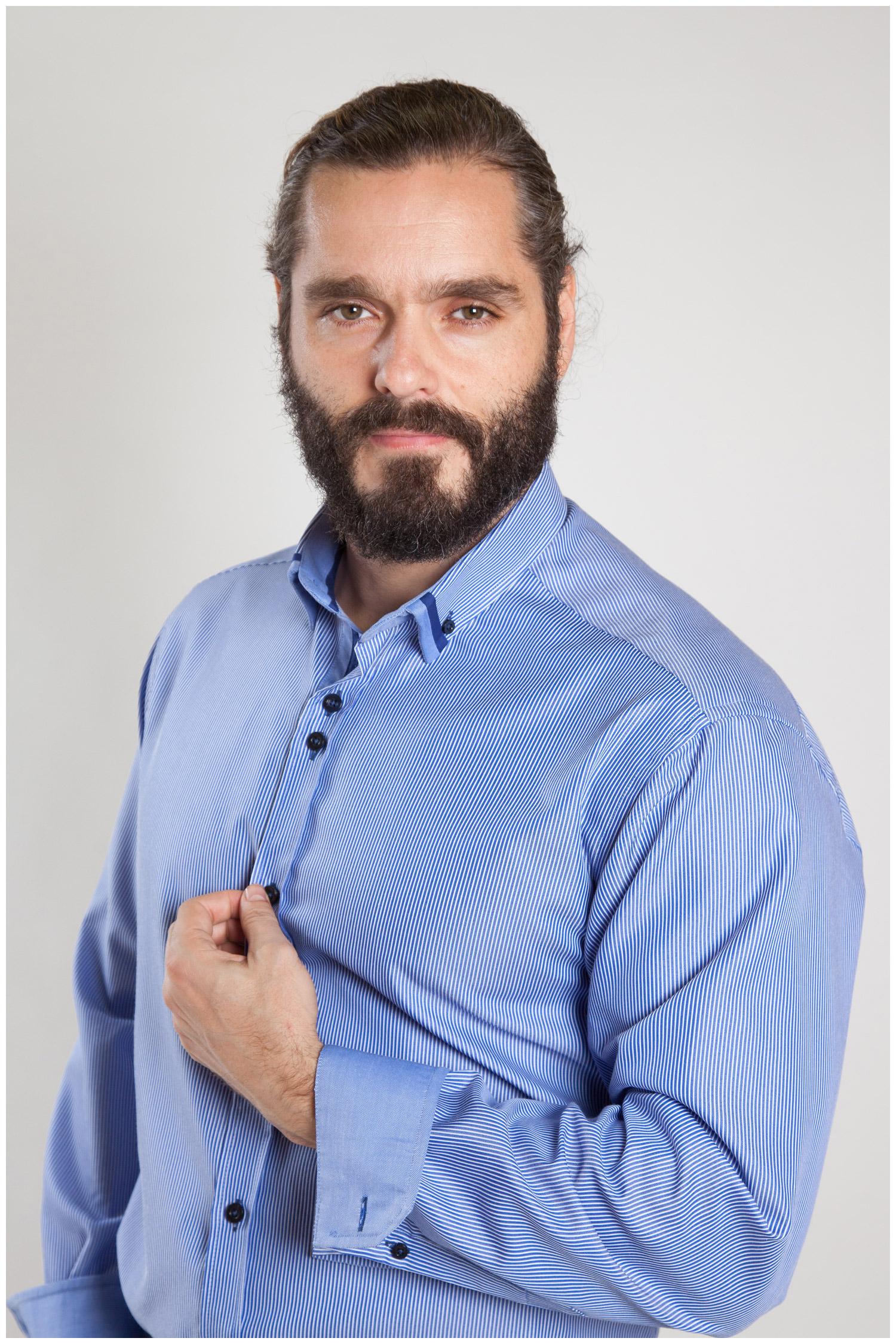 Camisas, Sport Manga Larga, 107155, MARINO | Zoom