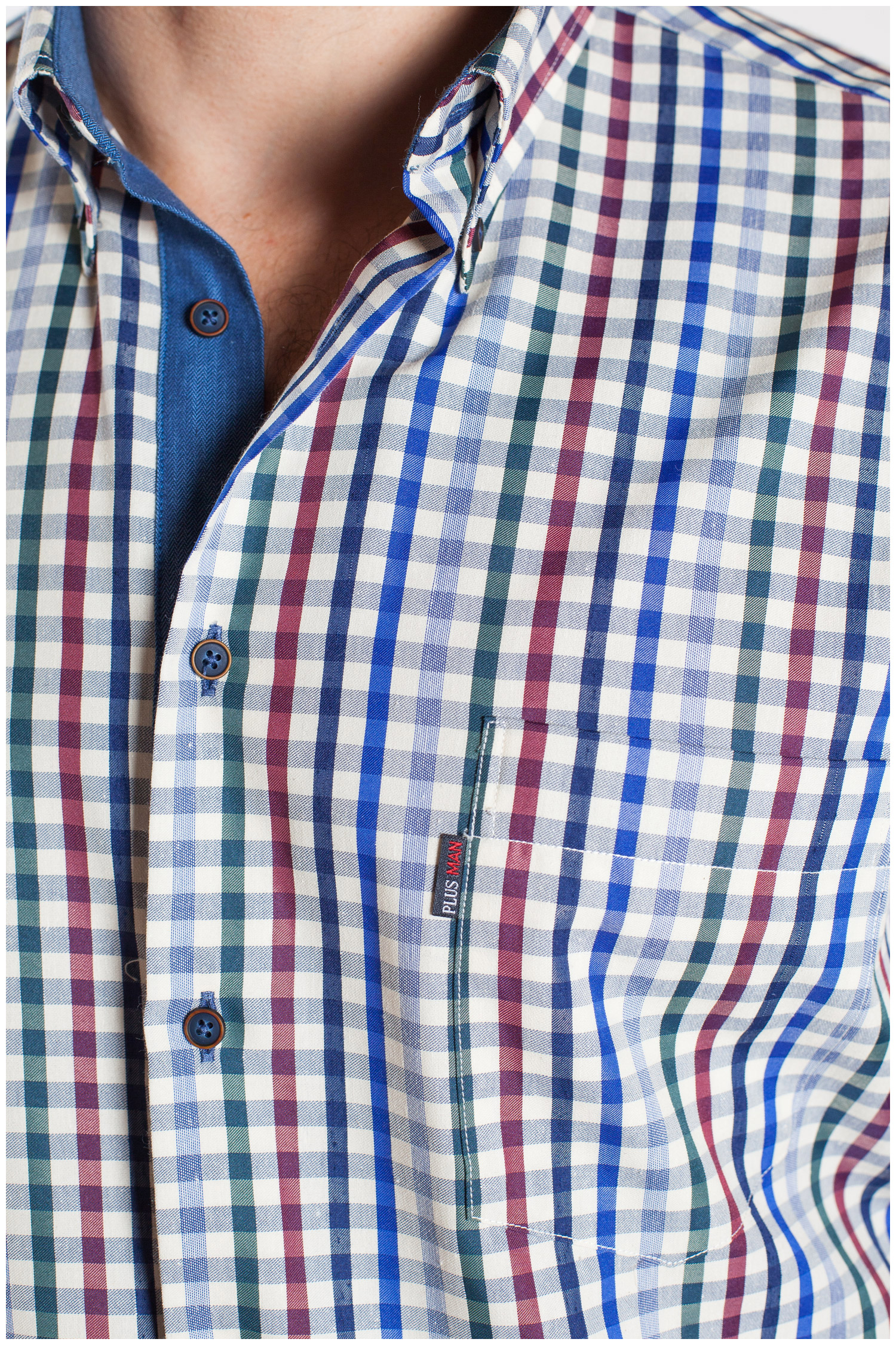 Camisas, Sport Manga Larga, 107163, MARINO | Zoom