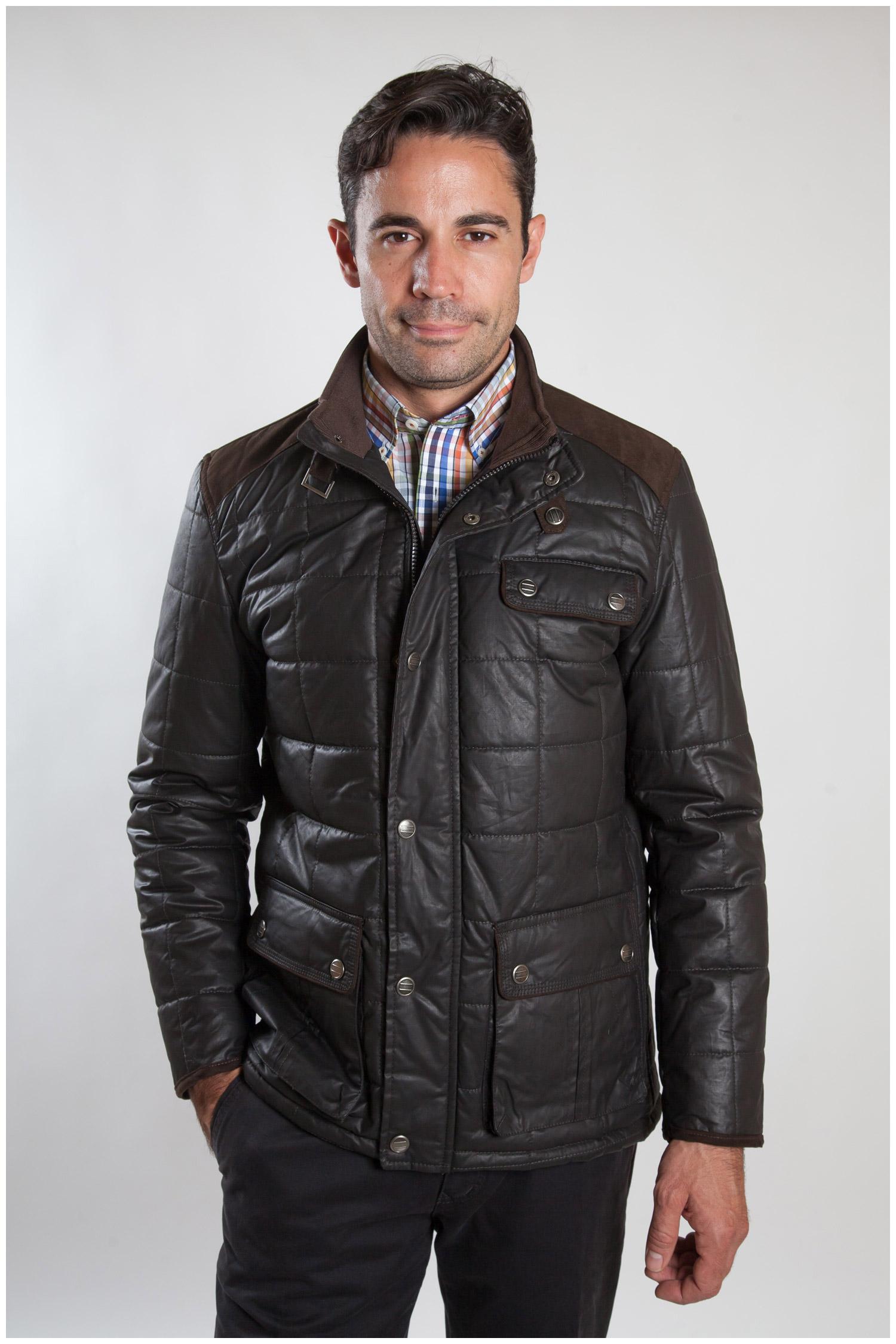 Abrigo, Chaquetones y Piel, 107201, MARRON | Zoom