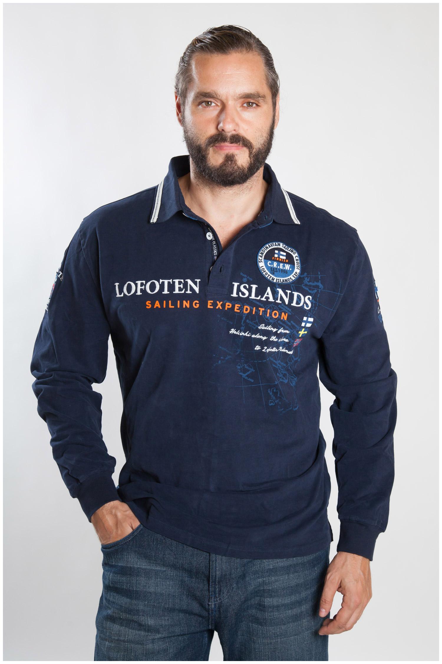 Sport, Polos M. Larga, 107225, MARINO | Zoom