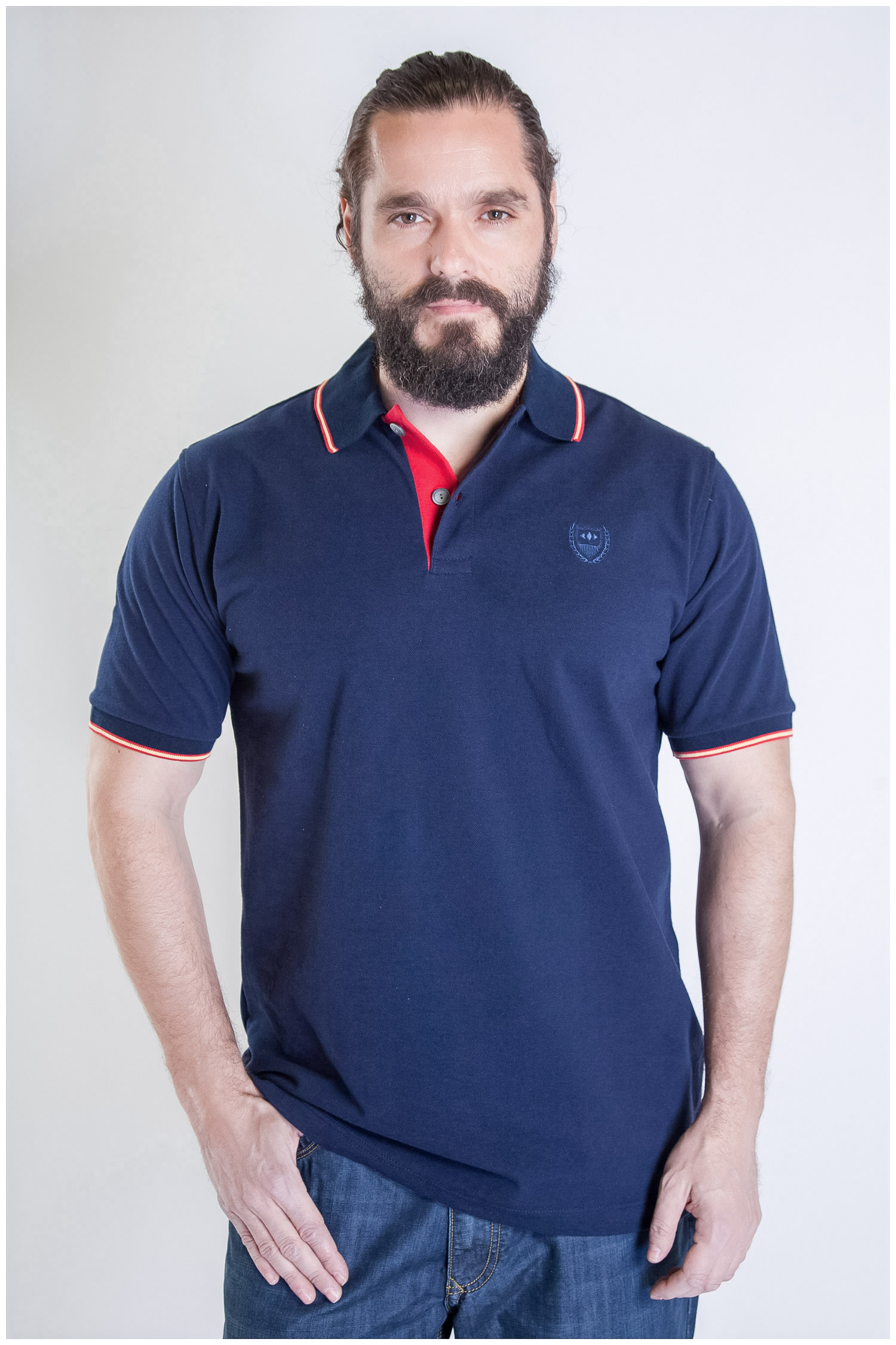 Sport, Polos M. Corta, 107314, MARINO   Zoom
