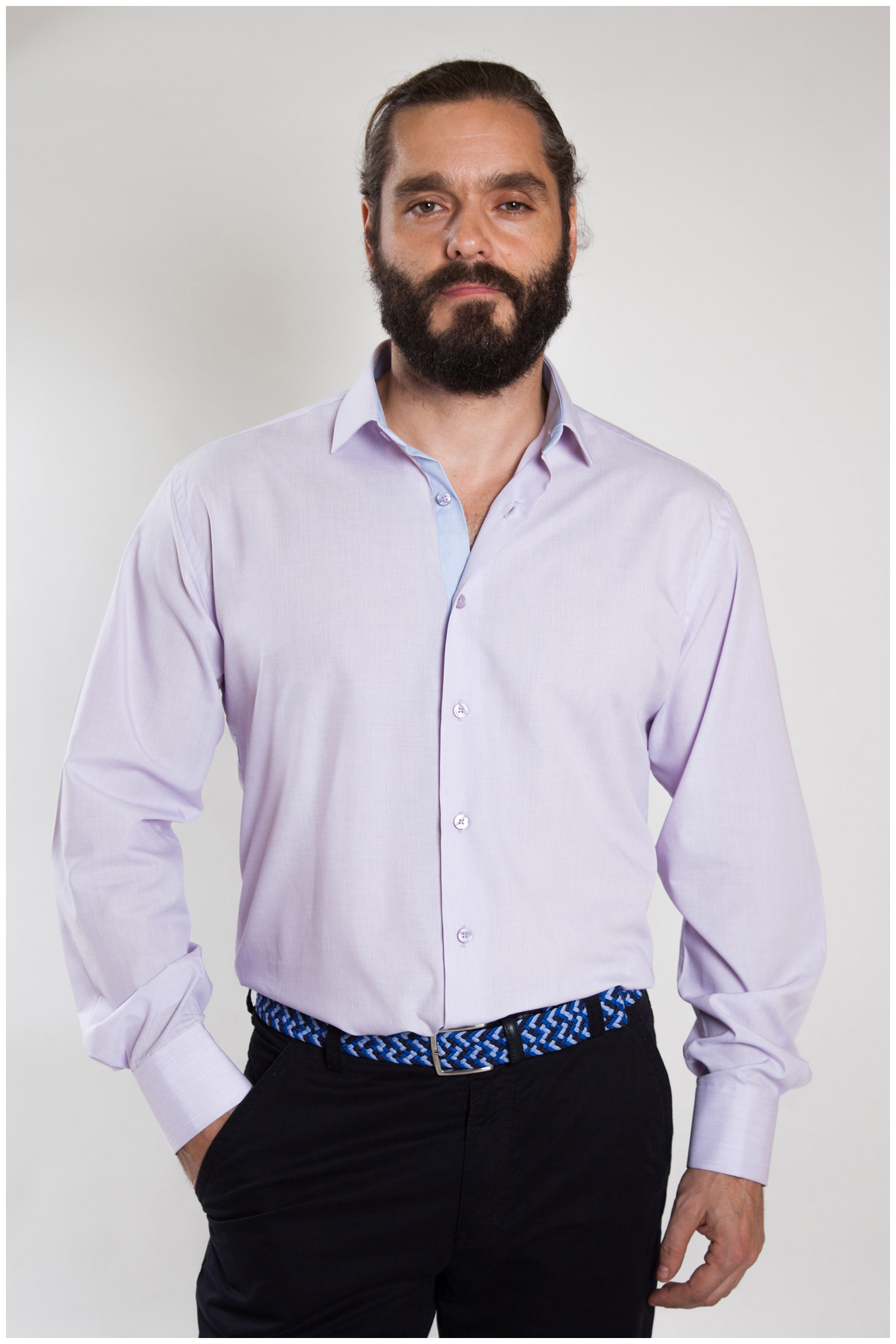 Camisas, Vestir Manga Larga, 107324, MALVA | Zoom