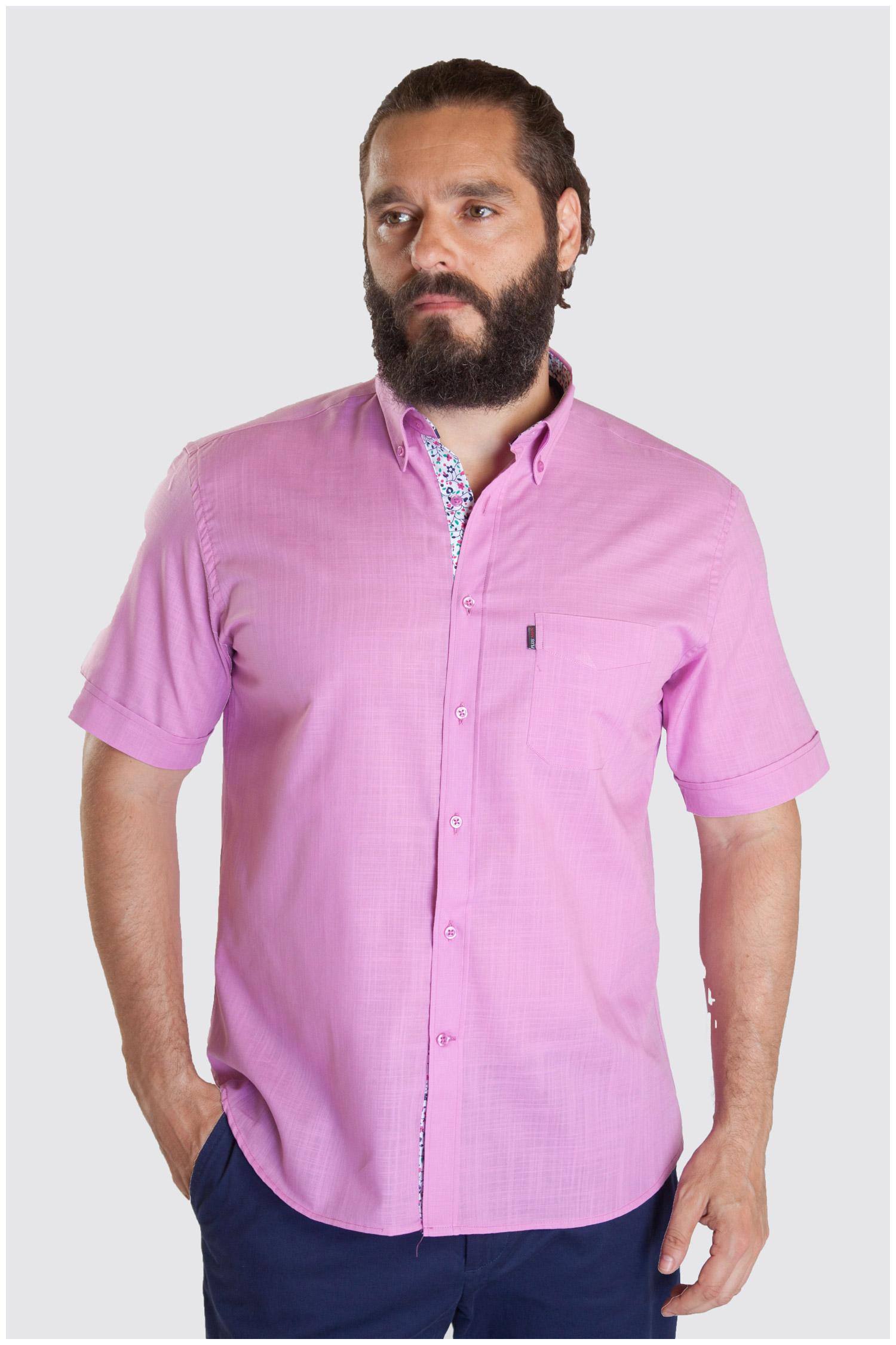 Camisas, Sport Manga Corta, 107328, FUCSIA | Zoom