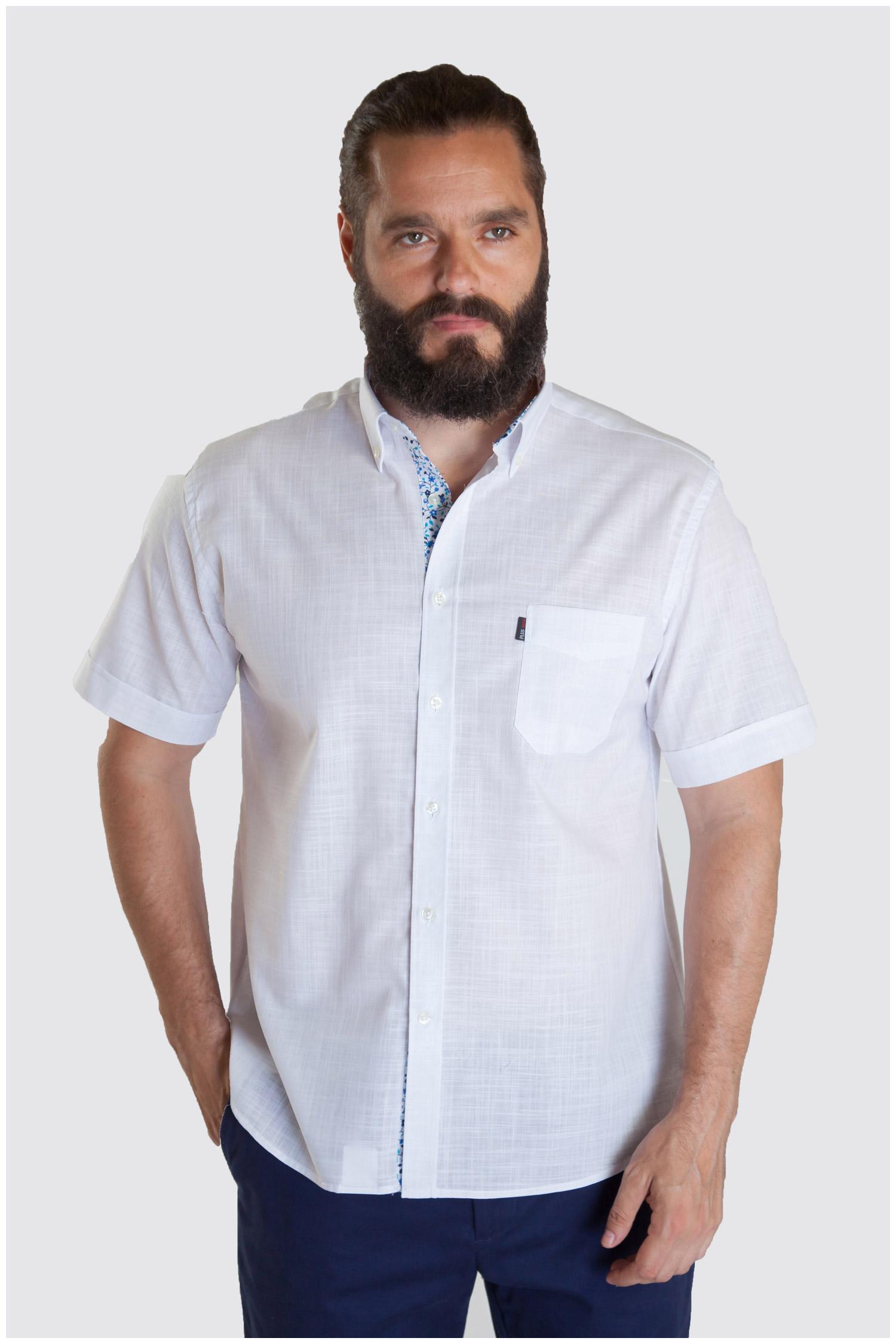 Camisas, Sport Manga Corta, 107328, BLANCO | Zoom