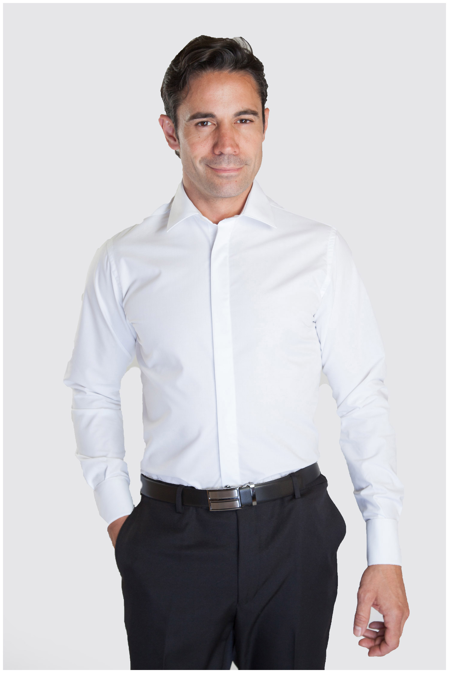 Camisas, Ceremonia, 107330, BLANCO | Zoom