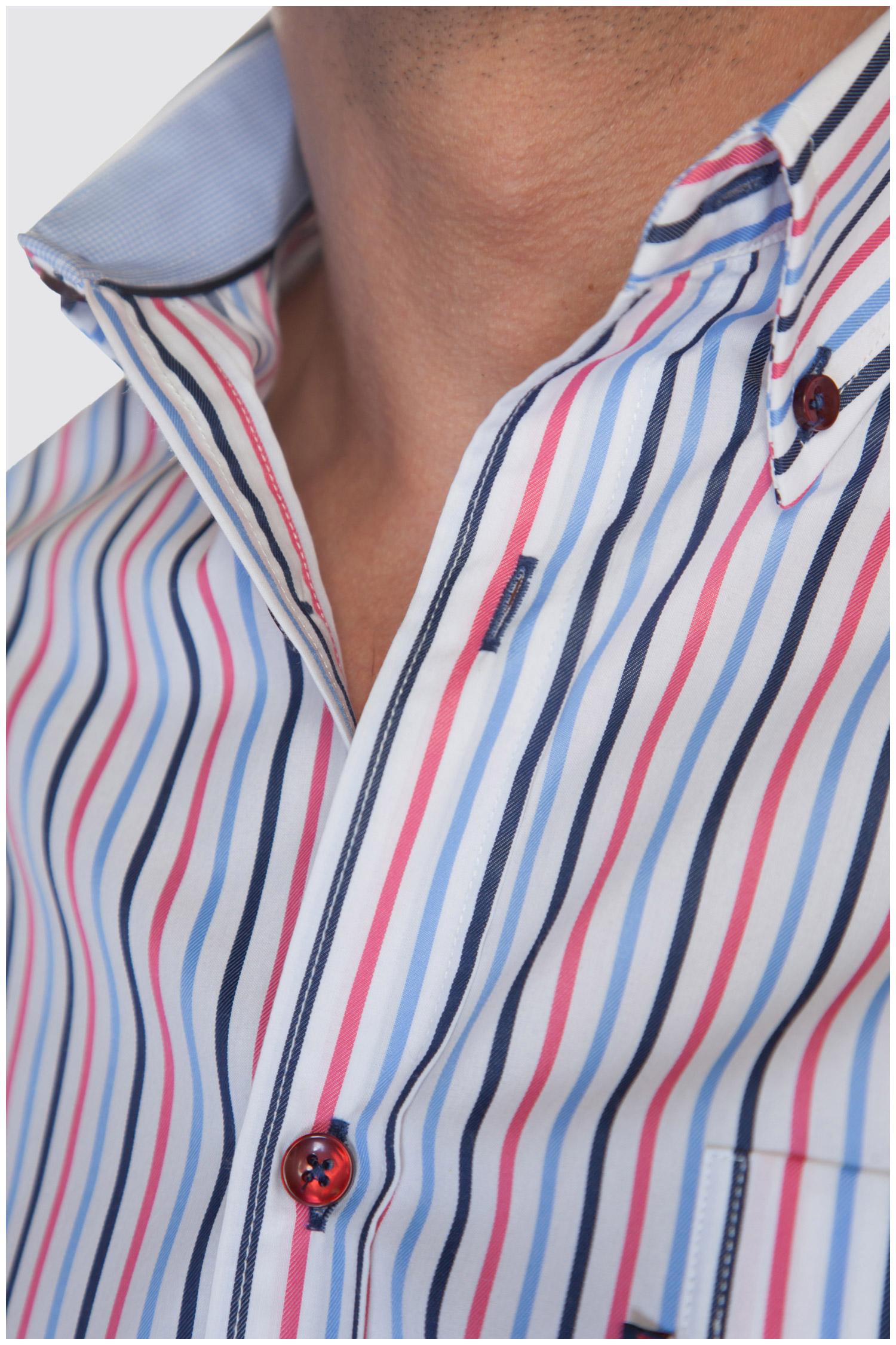 Camisas, Sport Manga Corta, 107334, MARINO | Zoom