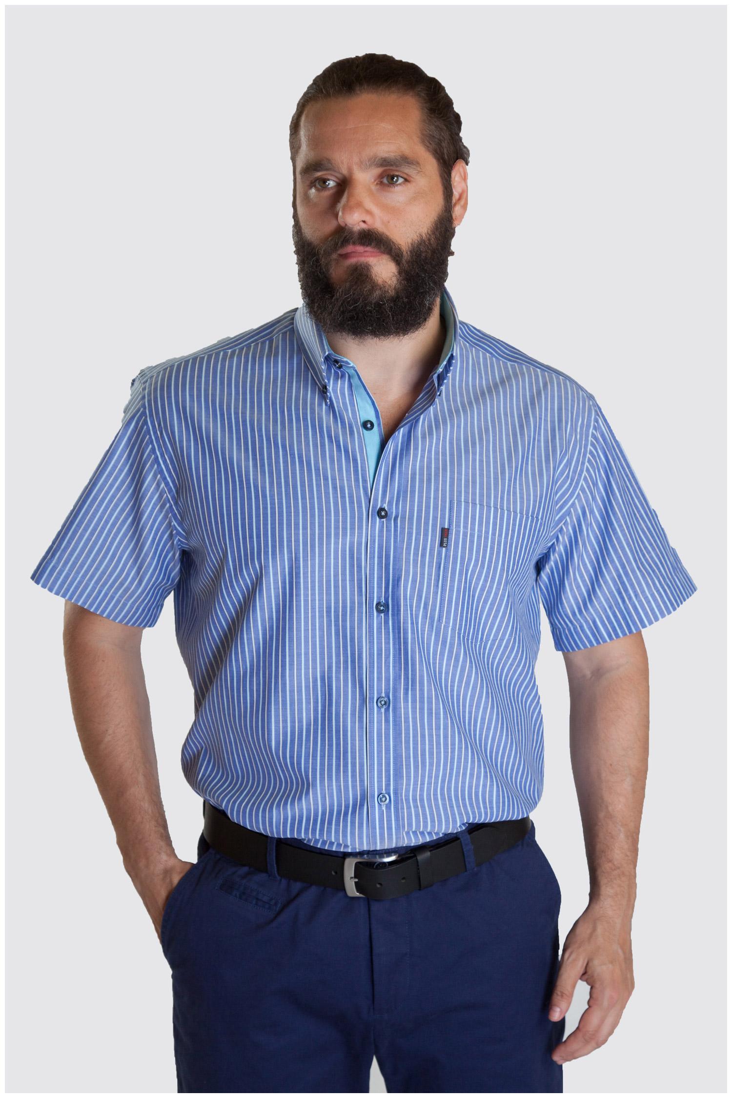 Camisas, Sport Manga Corta, 107335, MARINO   Zoom