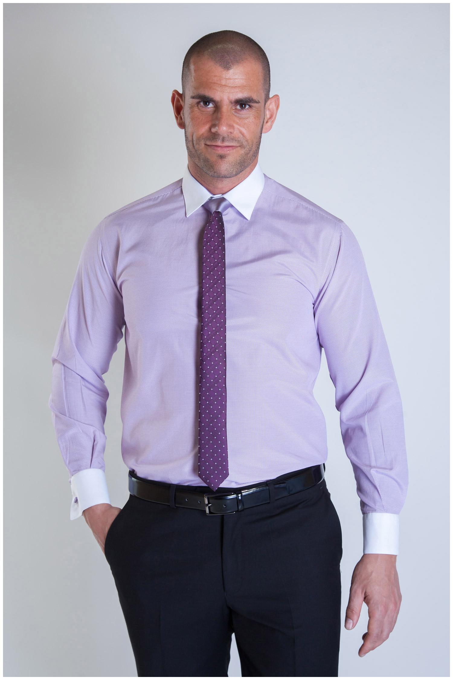Camisas, Vestir Manga Larga, 107347, MALVA | Zoom