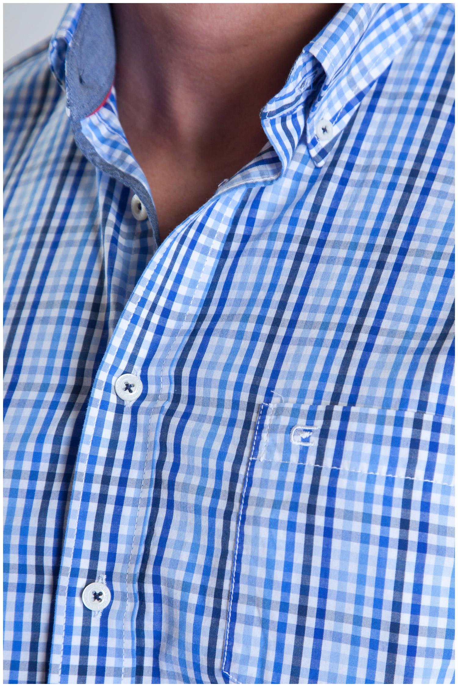 Camisas, Sport Manga Larga, 107482, MARINO | Zoom