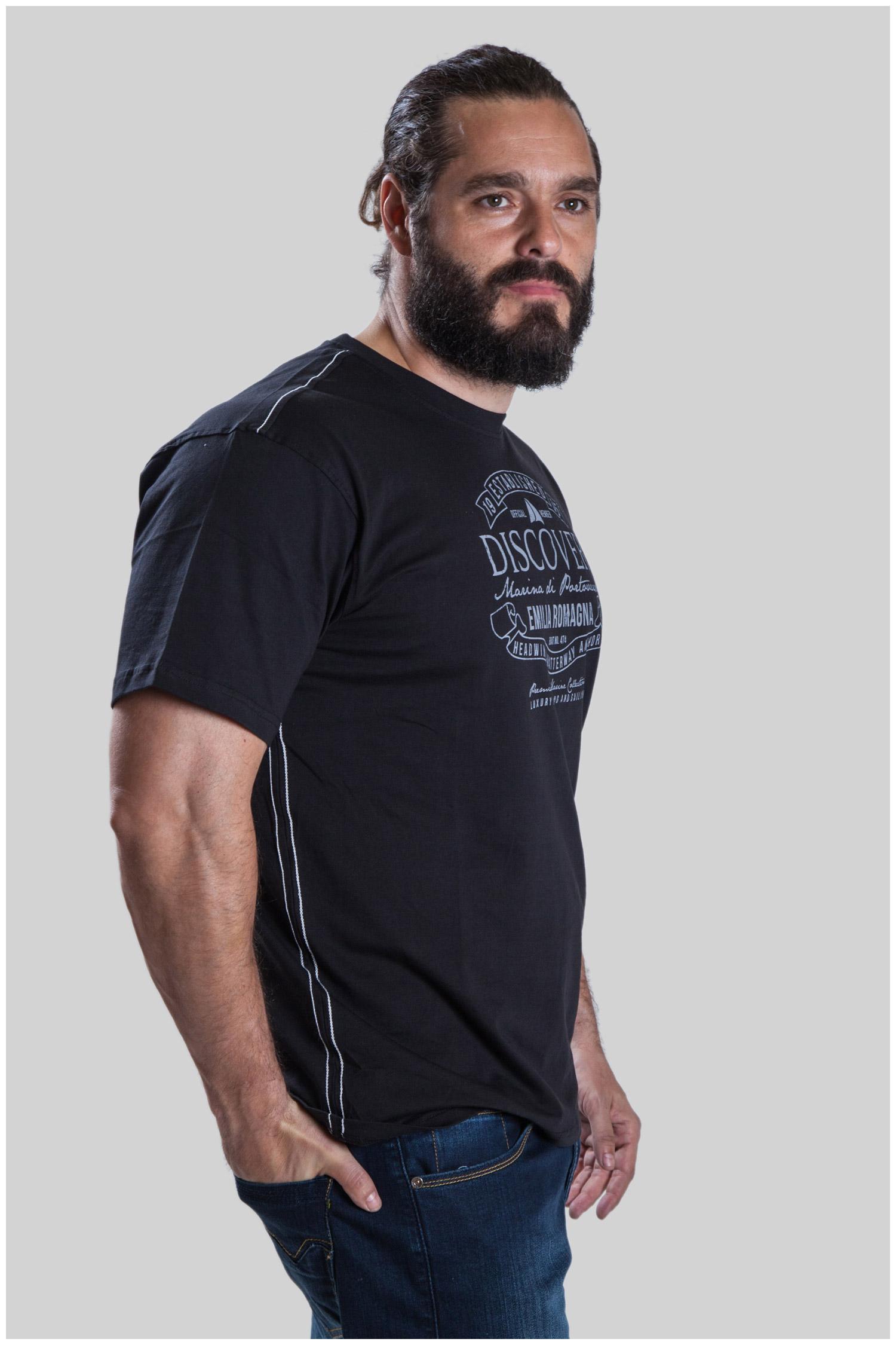 Sport, Camisetas M. Corta, 107493, NEGRO   Zoom