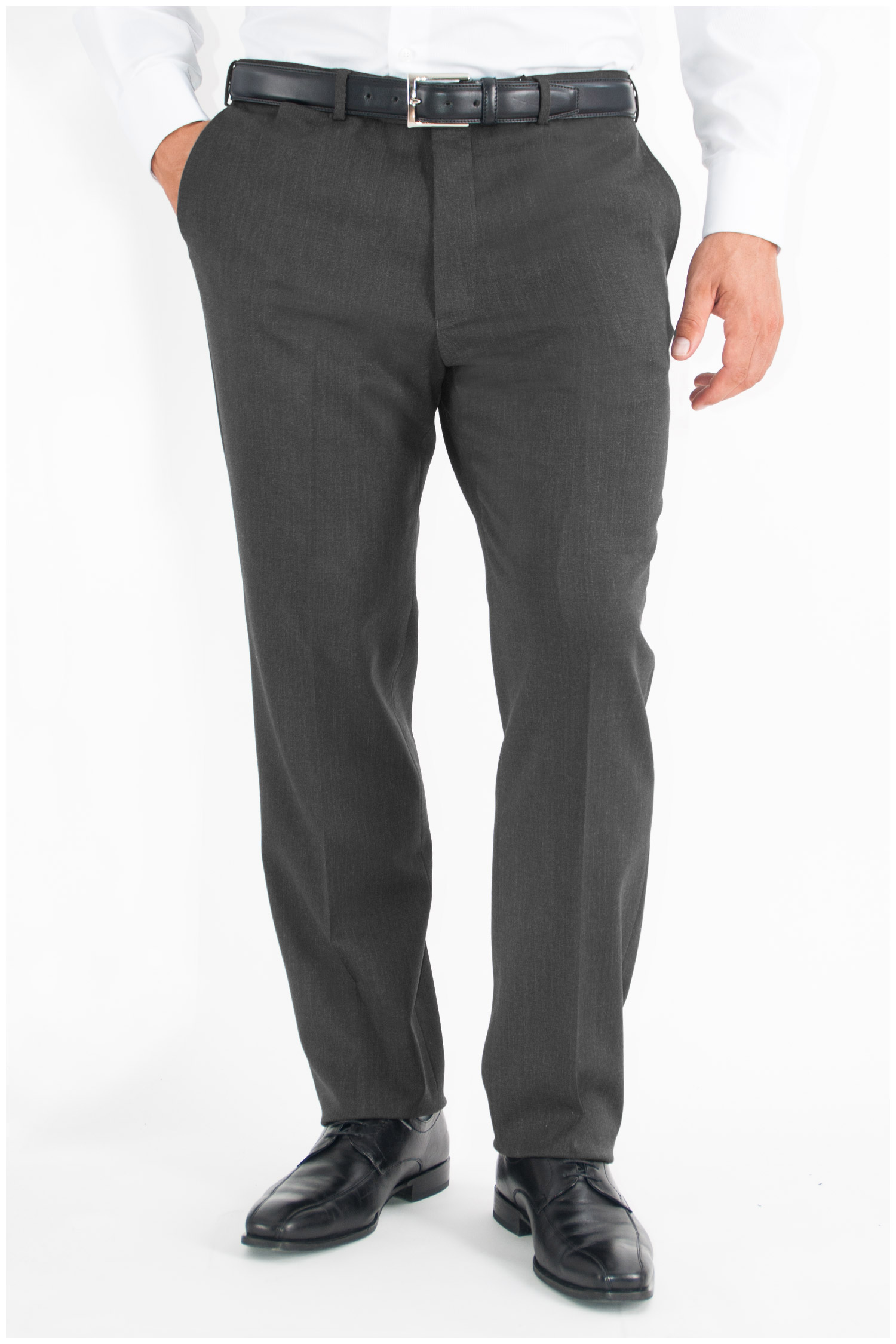 Pantalones, Vestir, 107567, GRIS MEDIO | Zoom