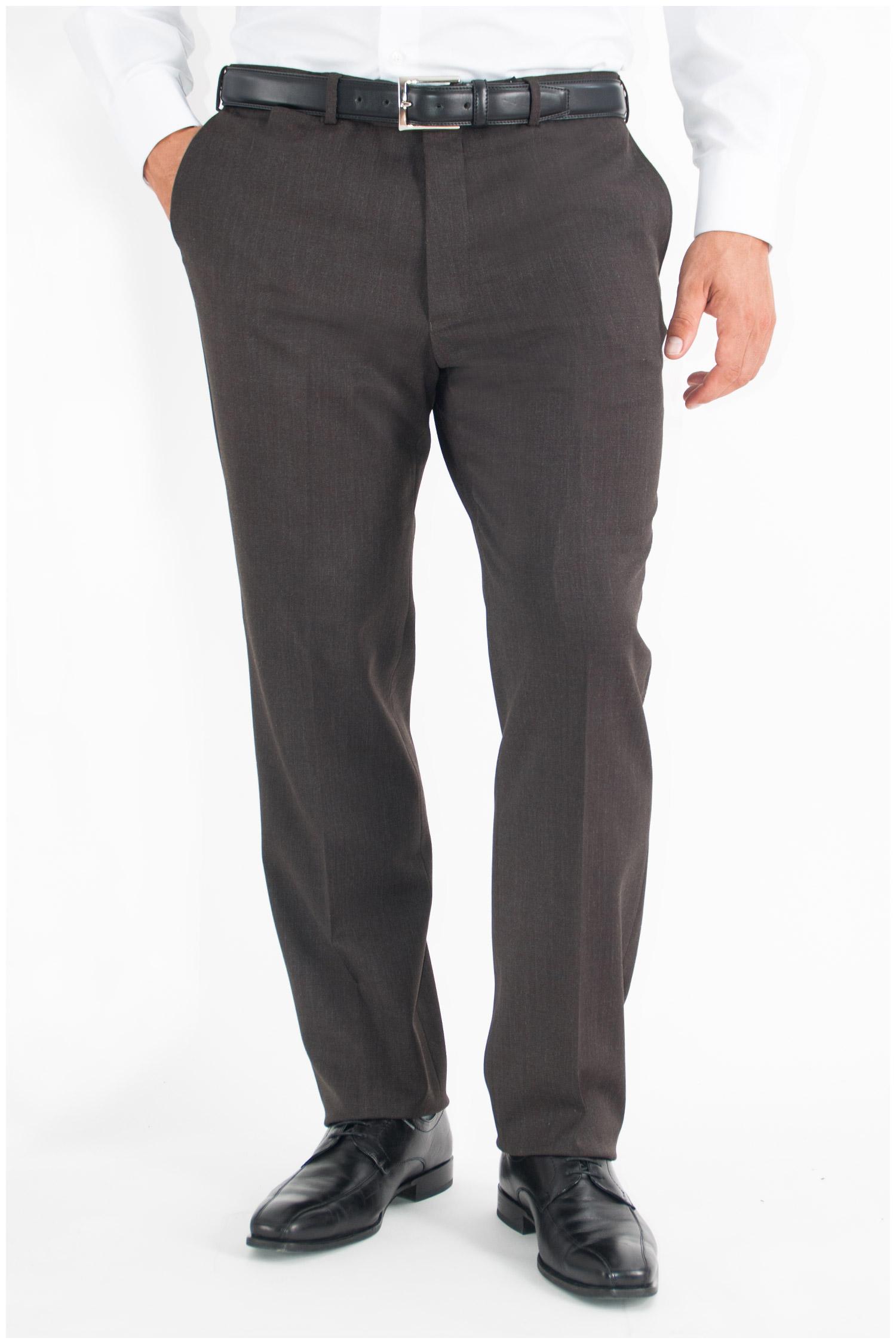 Pantalones, Vestir, 107567, MARRON | Zoom