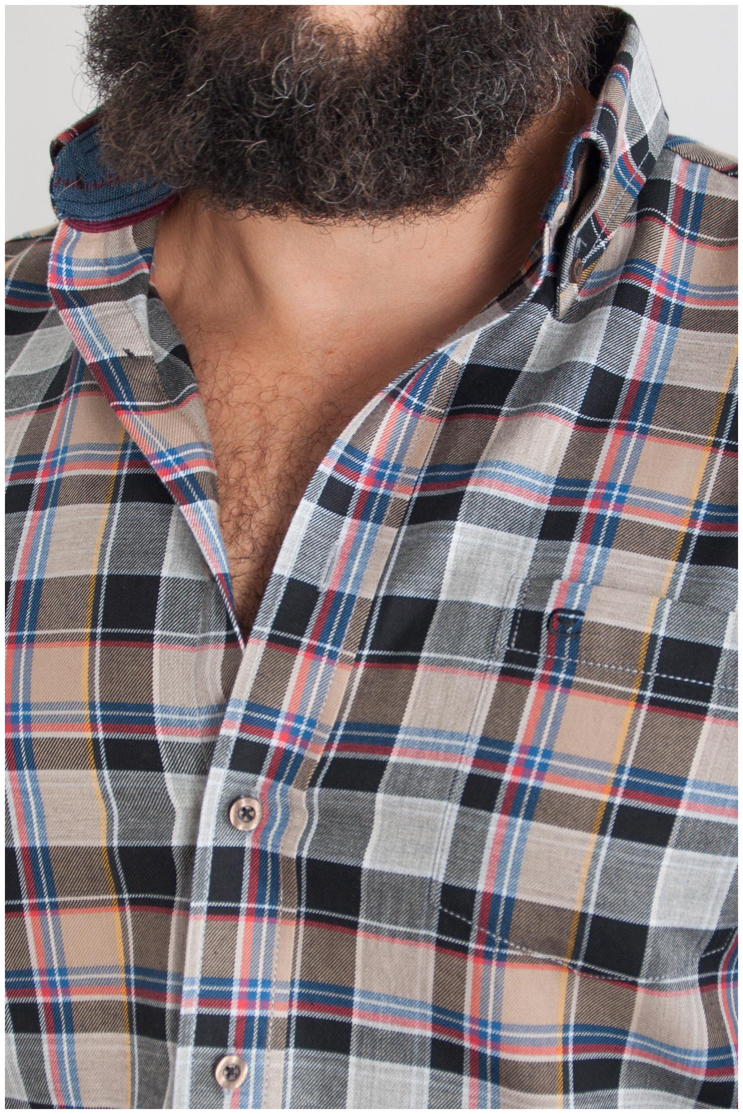 Camisas, Sport Manga Larga, 107699, CAMEL | Zoom