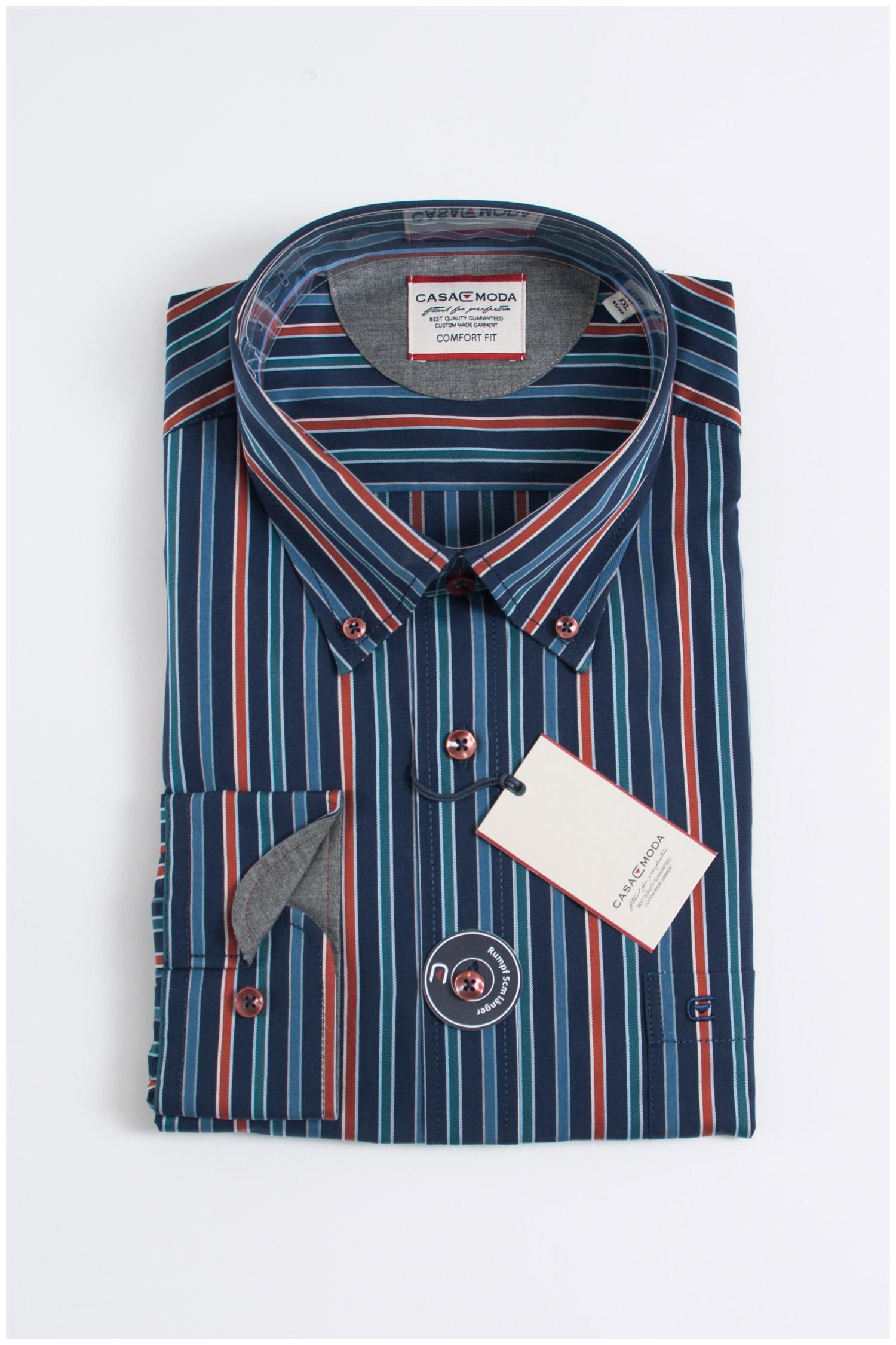 Camisas, Sport Manga Larga, 107700, MARINO | Zoom