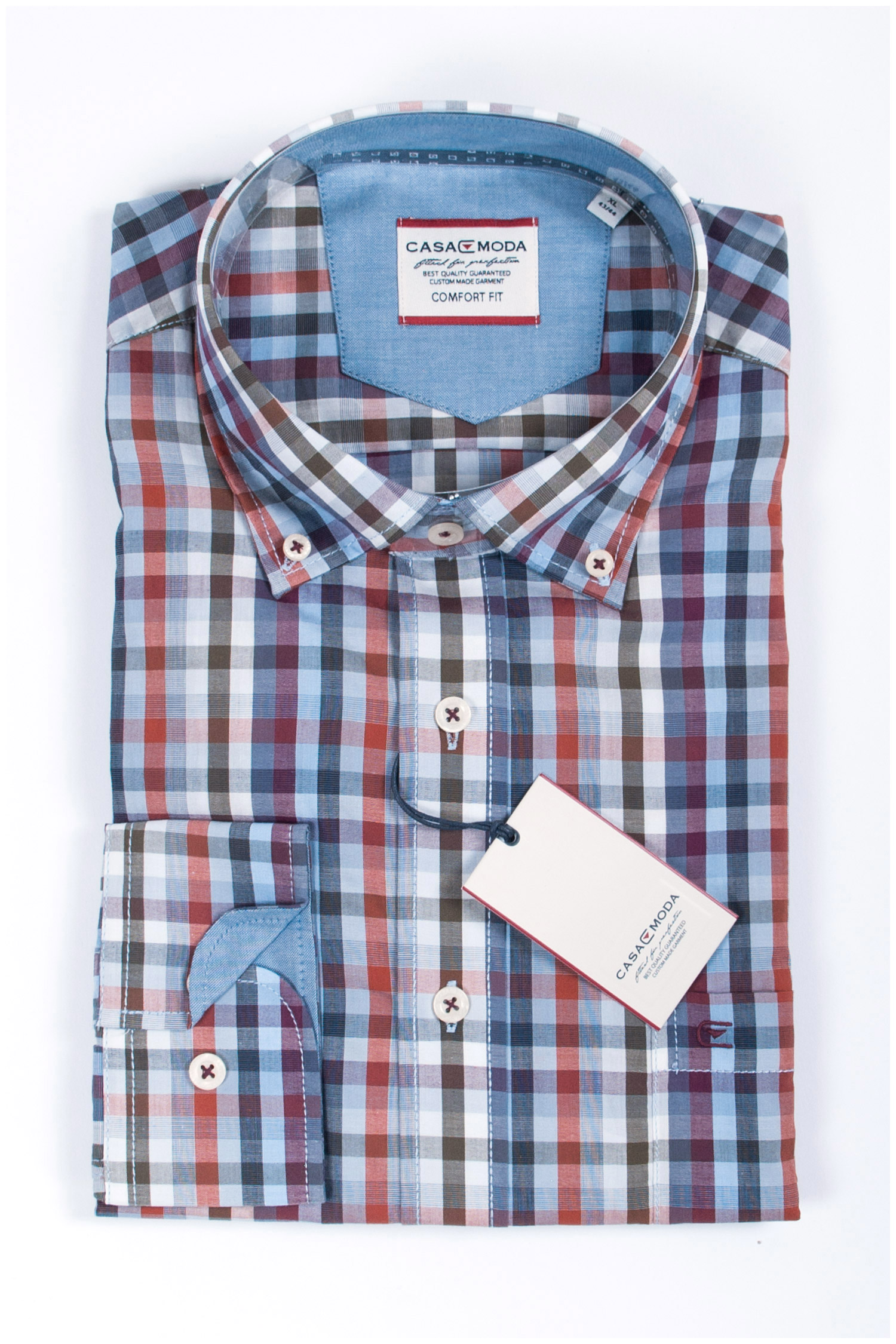 Camisas, Sport Manga Larga, 107781, BURDEOS | Zoom