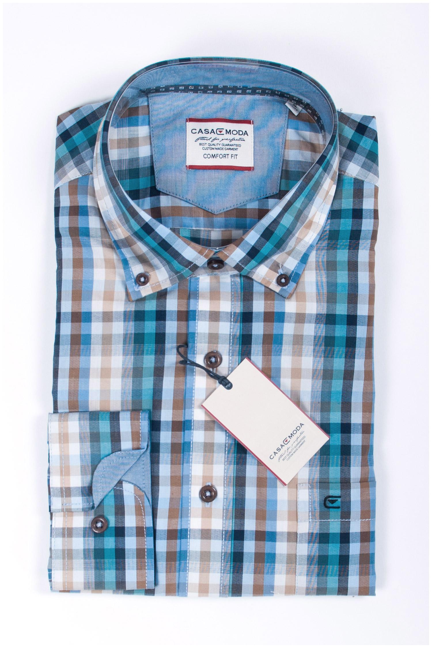Camisas, Sport Manga Larga, 107781, BEIGE | Zoom