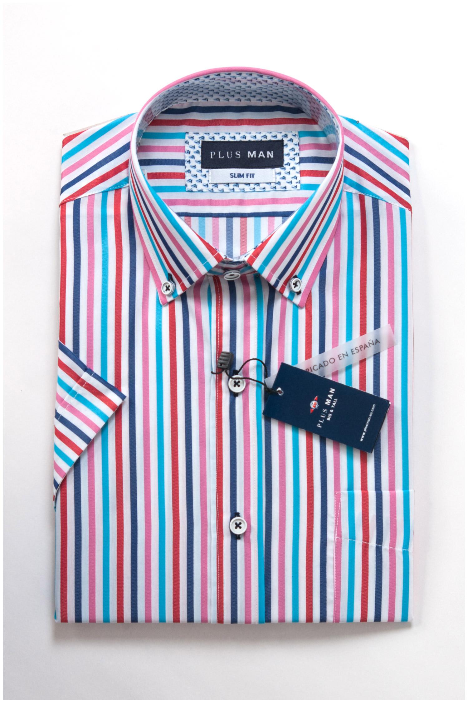 Camisas, Sport Manga Corta, 107818, GRANATE | Zoom