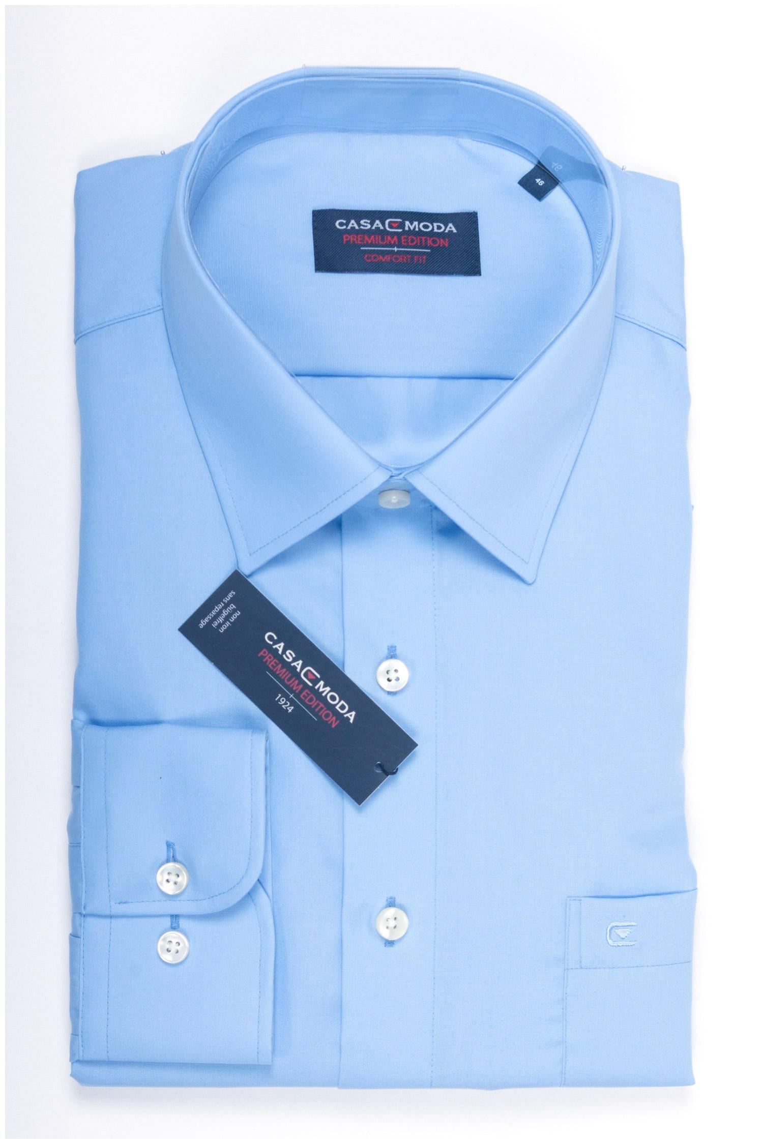 Camisas, Vestir Manga Larga, 107852, CELESTE | Zoom