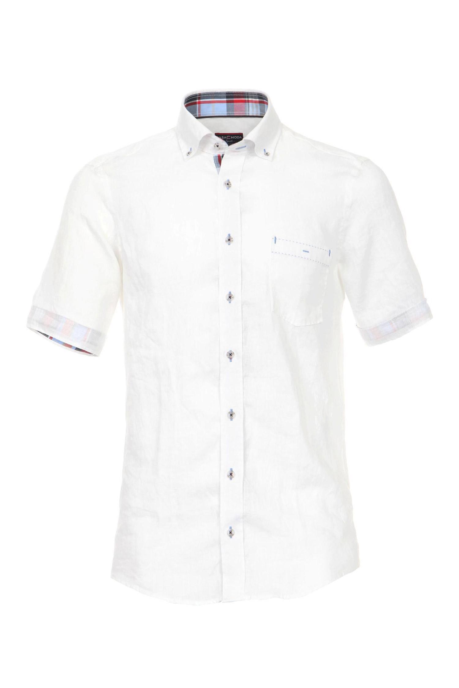 Camisas, Sport Manga Corta, 107855, BLANCO | Zoom