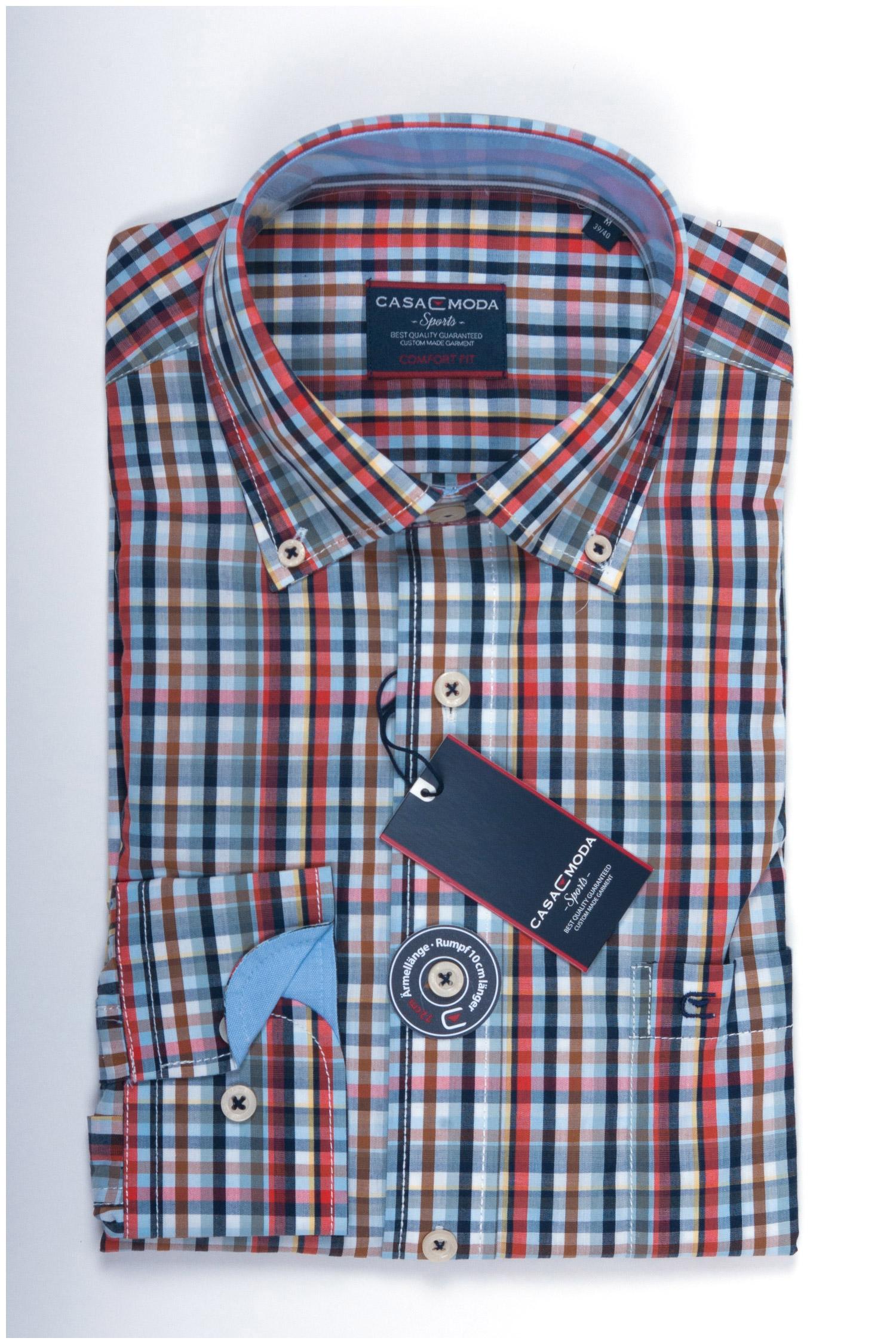 Camisas, Sport Manga Larga, 107857, GRANATE | Zoom