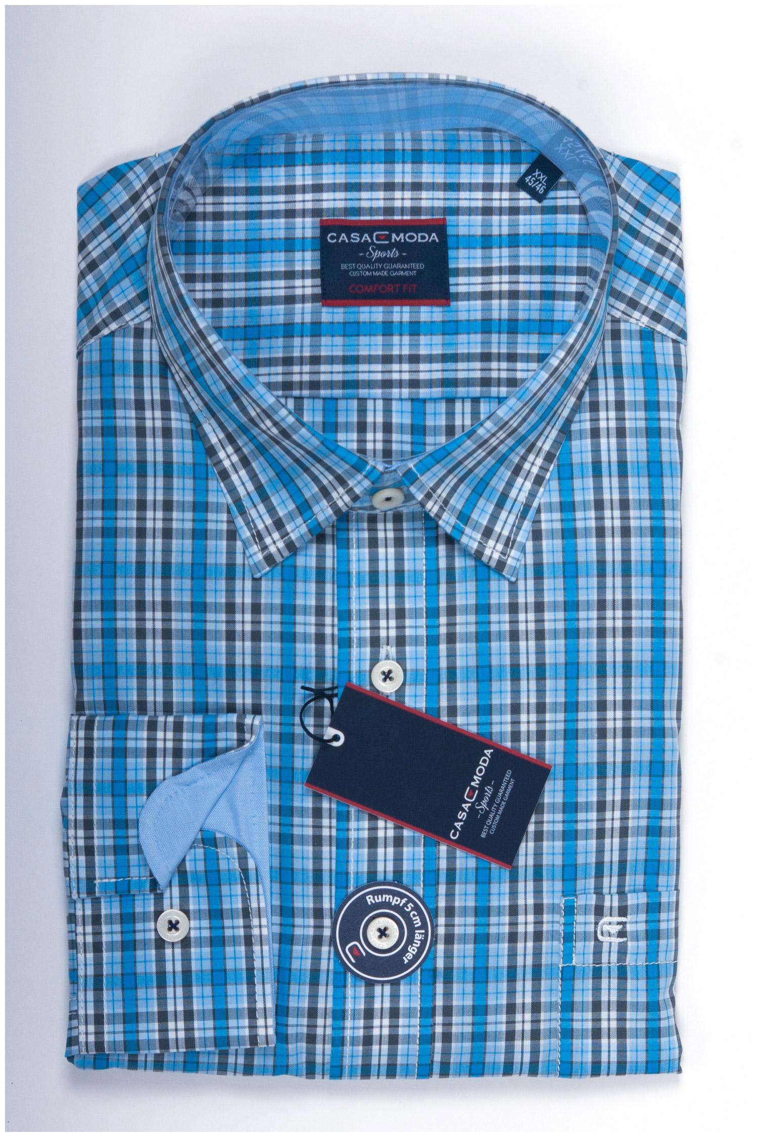 Camisas, Sport Manga Larga, 107858, CELESTE | Zoom