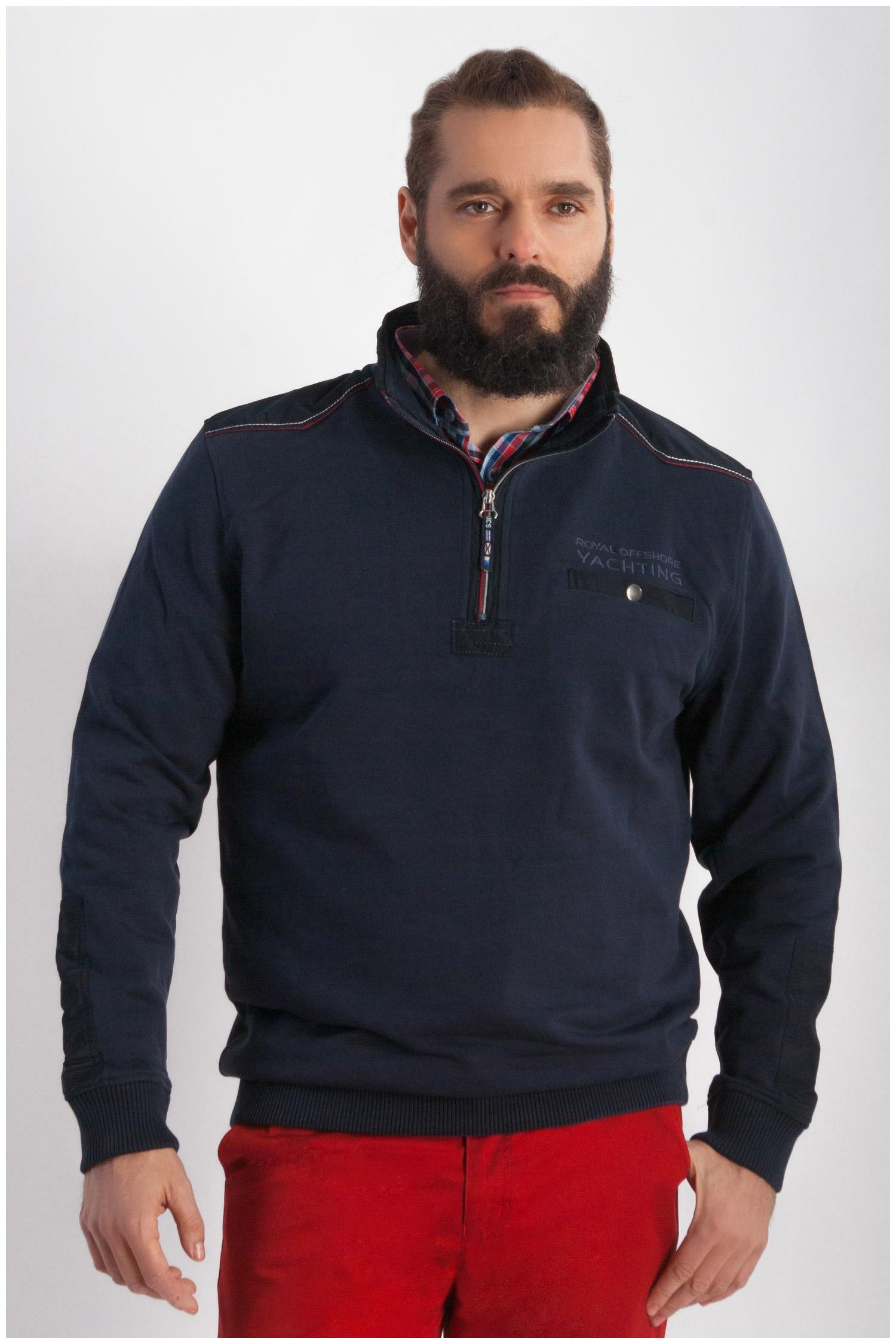 Sport, Polos M. Larga, 107874, MARINO | Zoom