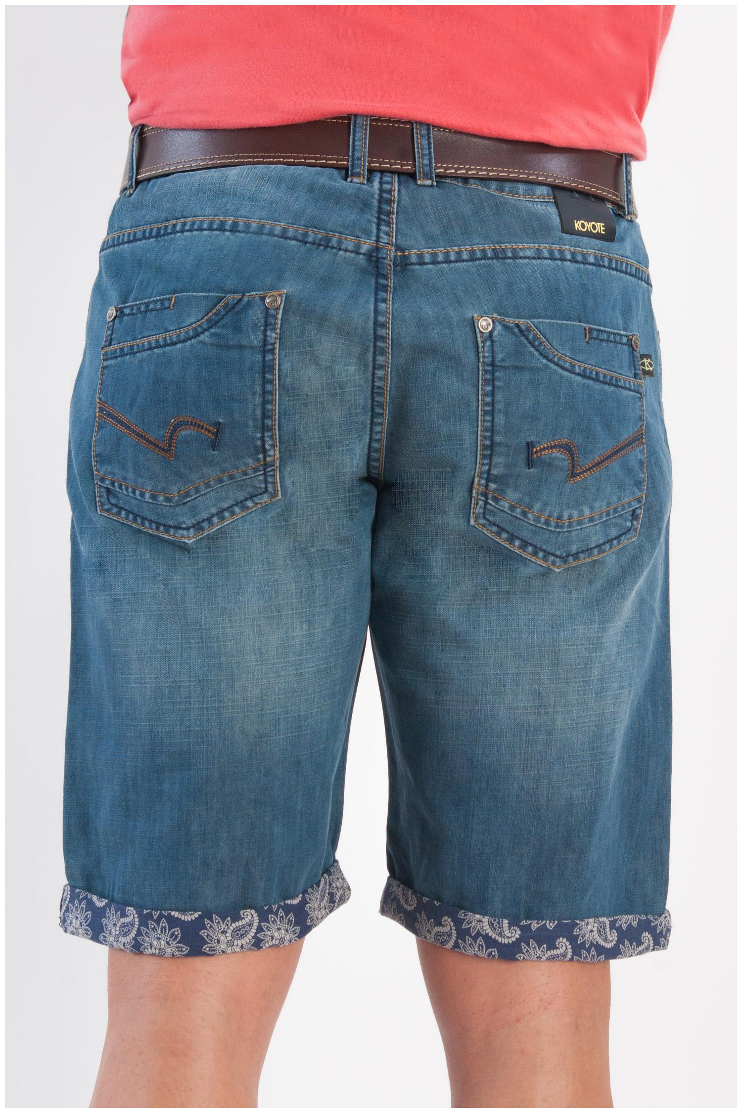 Pantalones, Bermudas, 107877, INDIGO | Zoom