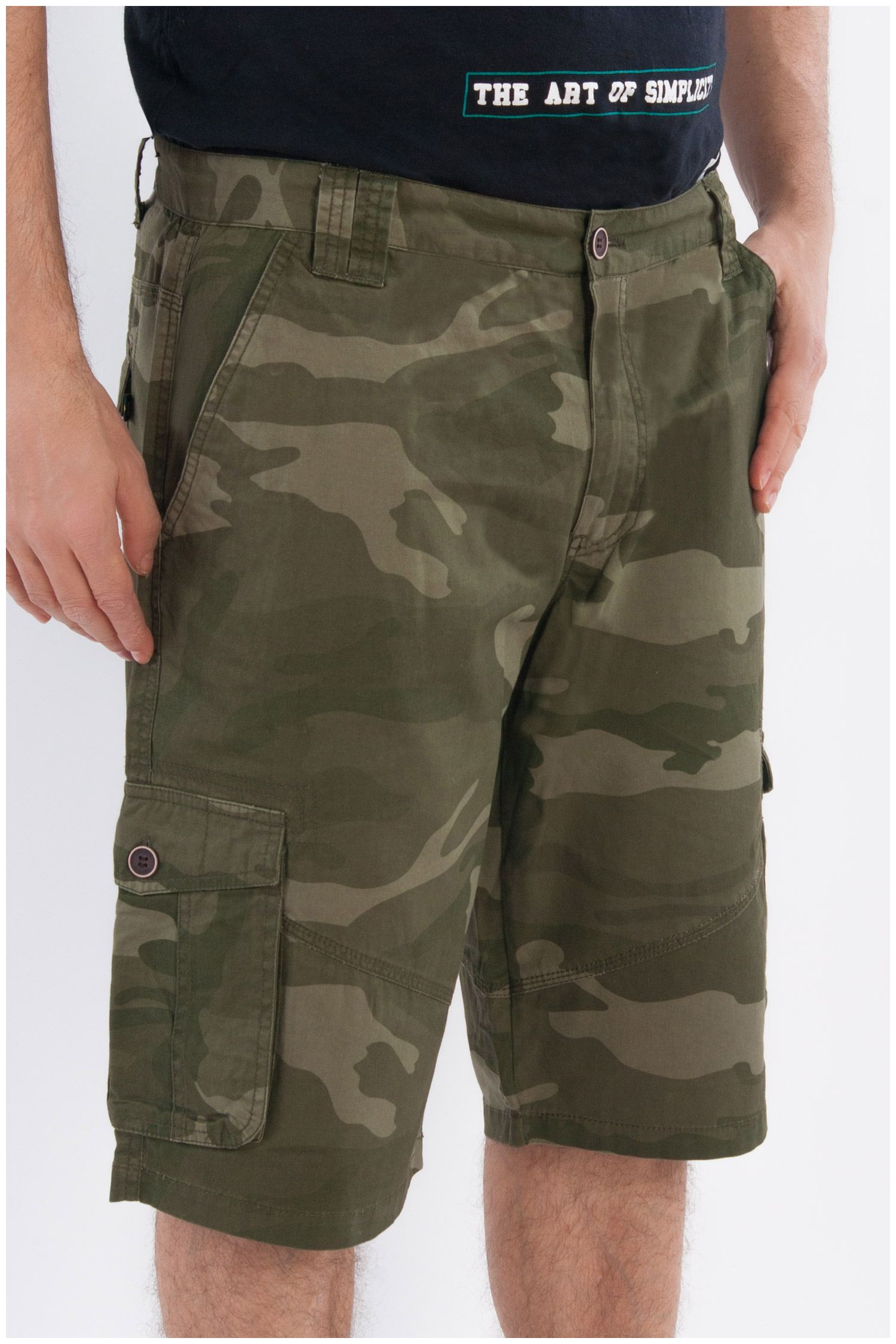 Pantalones, Bermudas, 107884, KAKI | Zoom