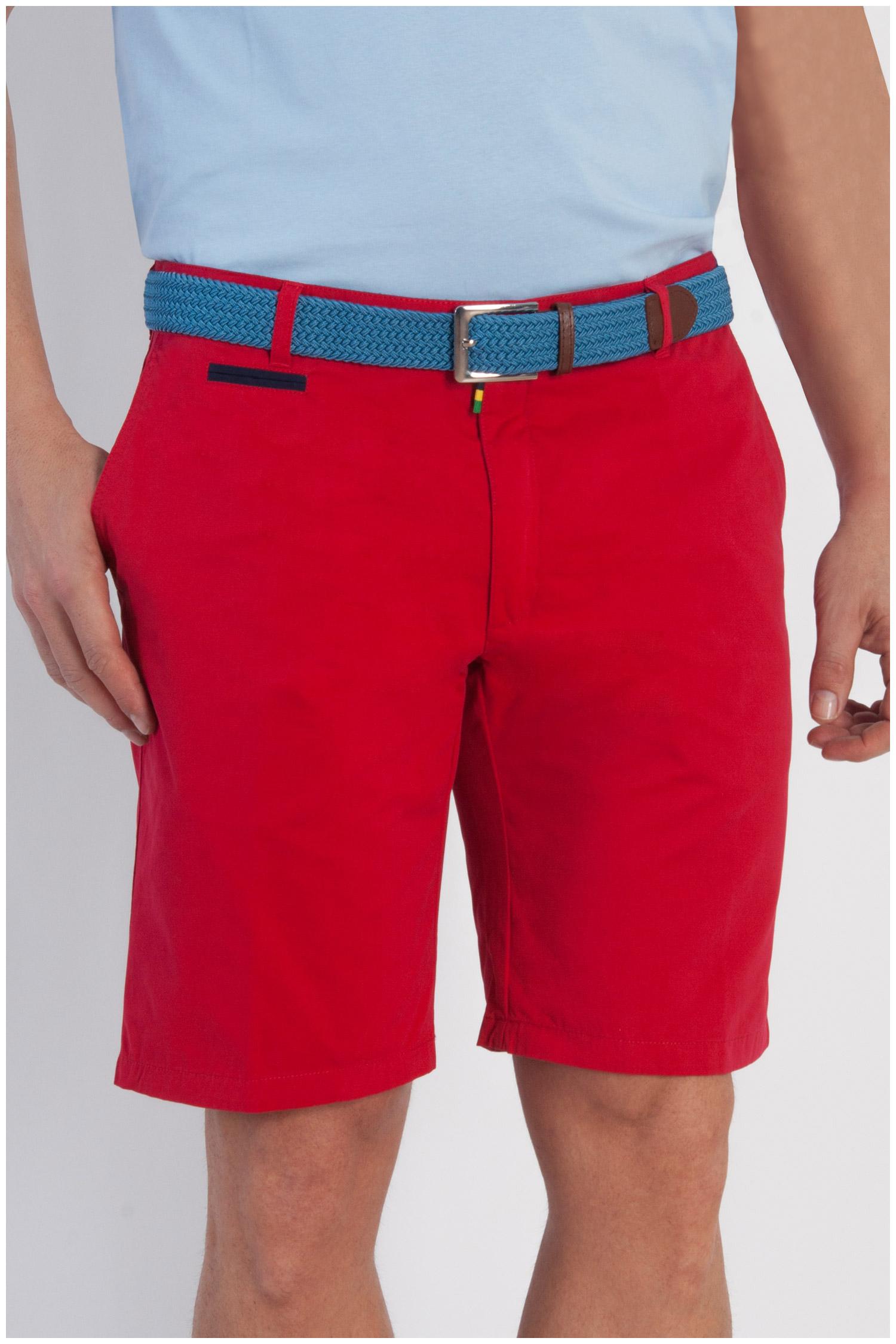 Pantalones, Bermudas, 107905, ROJO | Zoom