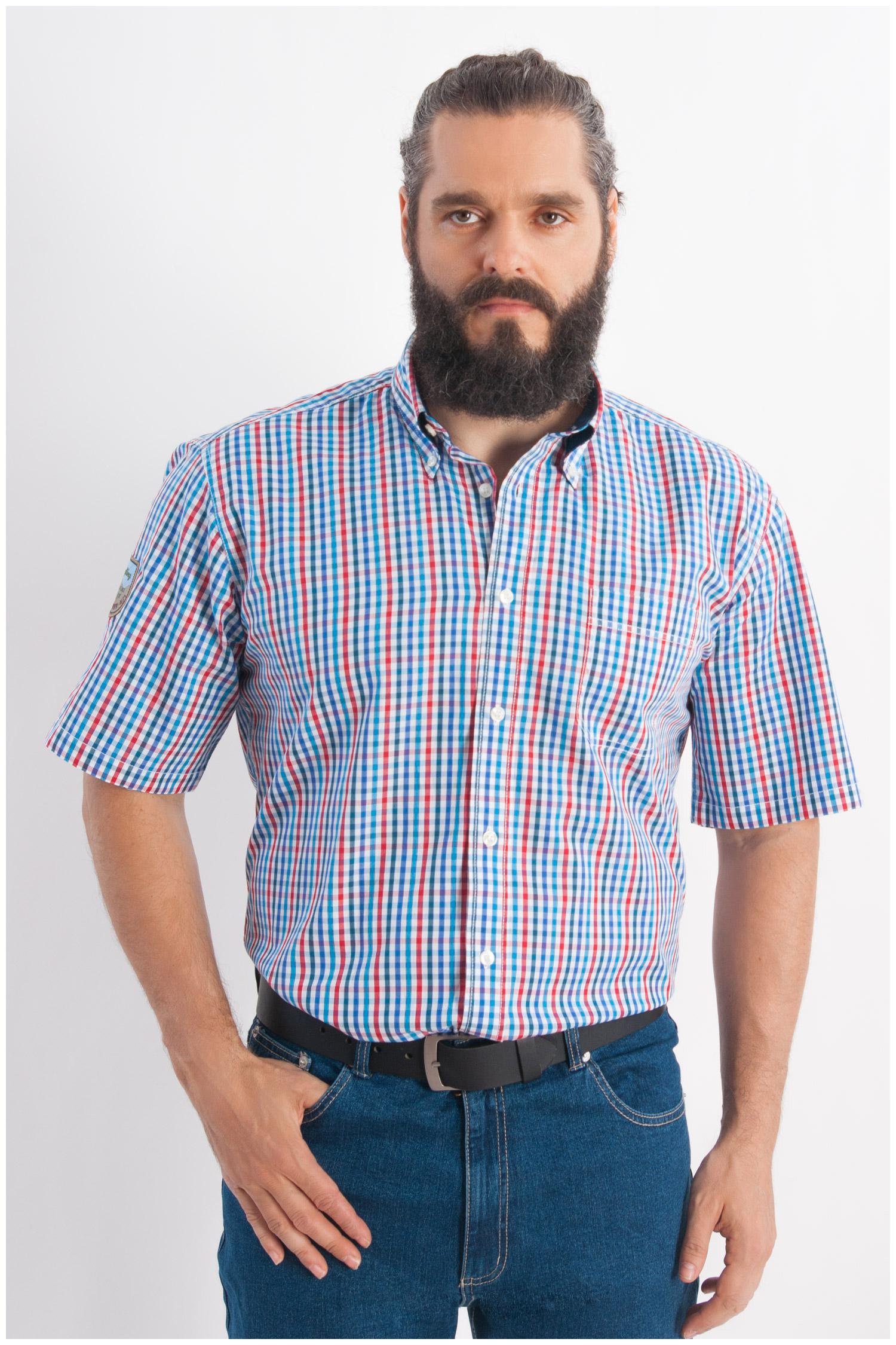 Camisas, Sport Manga Corta, 107930, MARINO | Zoom