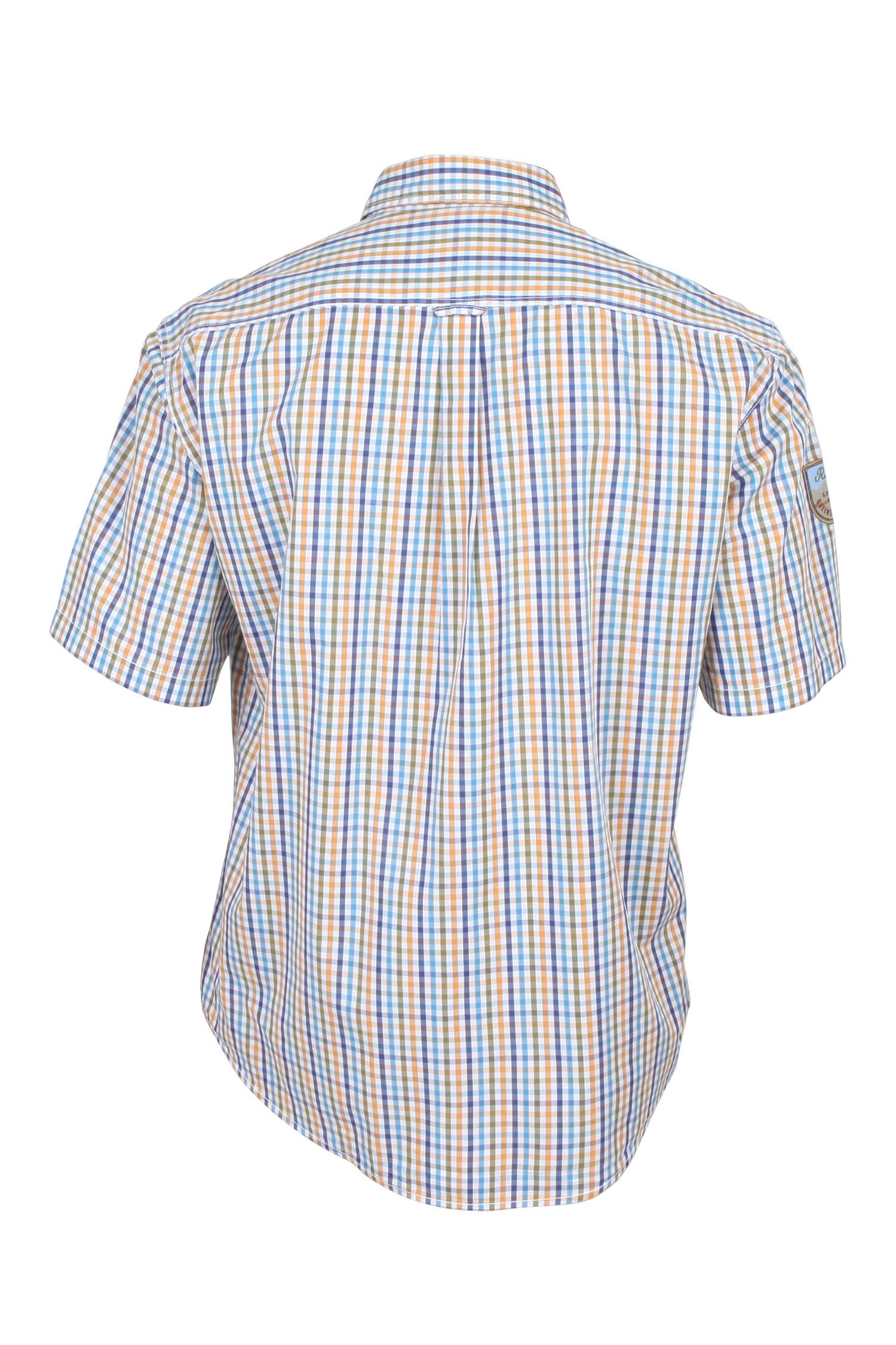 Camisas, Sport Manga Corta, 107930, MOSTAZA | Zoom