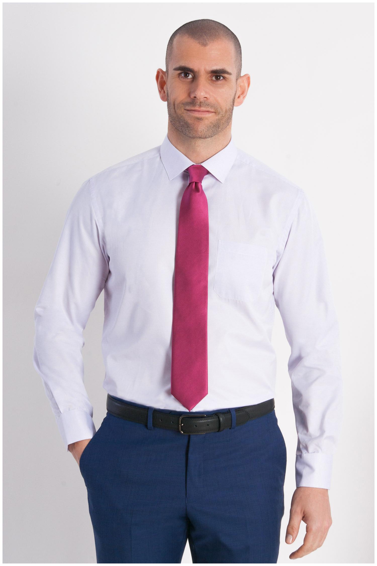 Camisas, Vestir Manga Larga, 107950, ROSA | Zoom