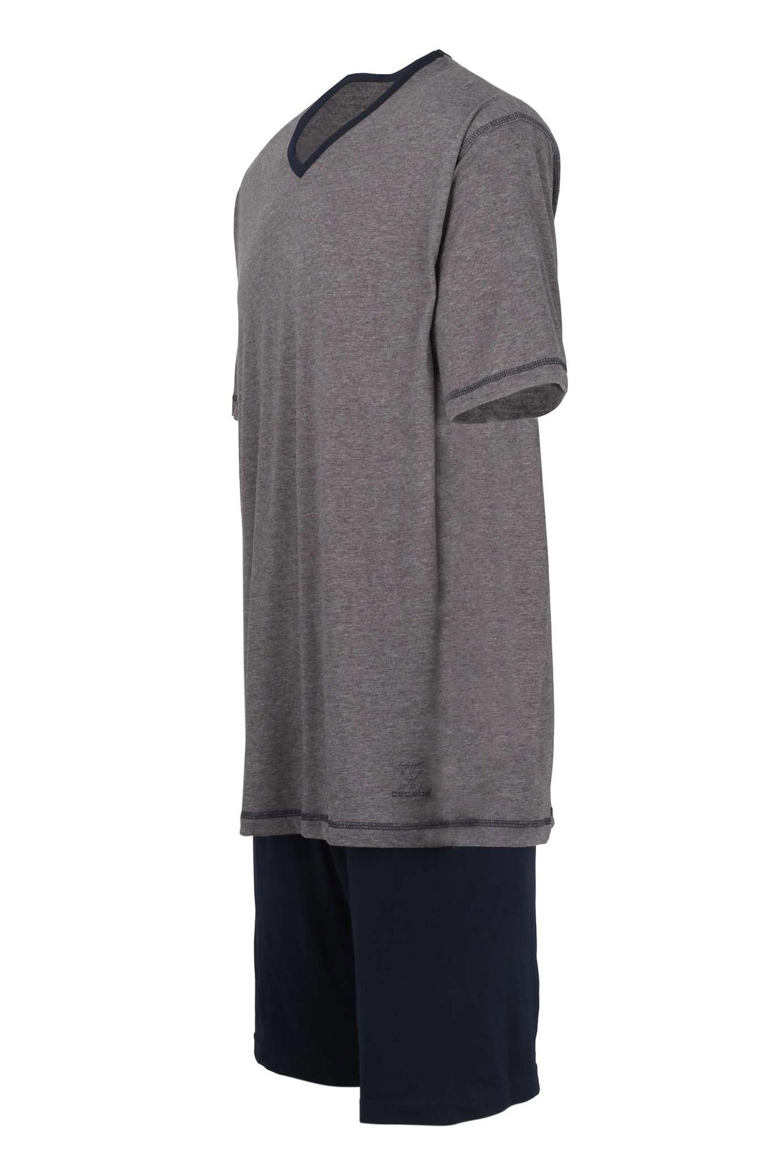 Homewear, Pijama M. Corta, 107962, MARINO | Zoom