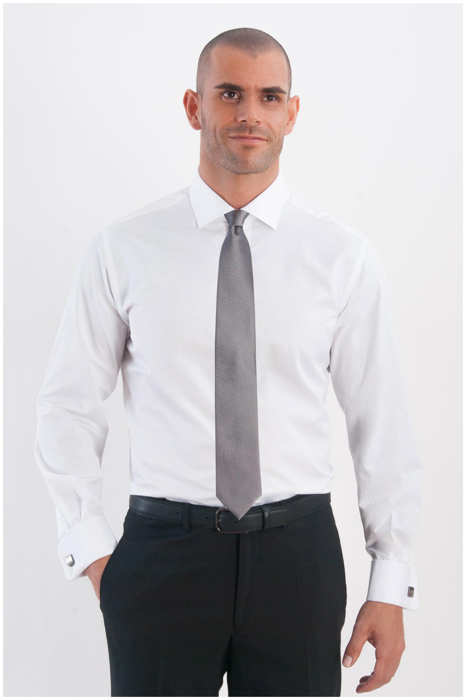 Camisas, Vestir Manga Larga, 107965, BLANCO | Zoom