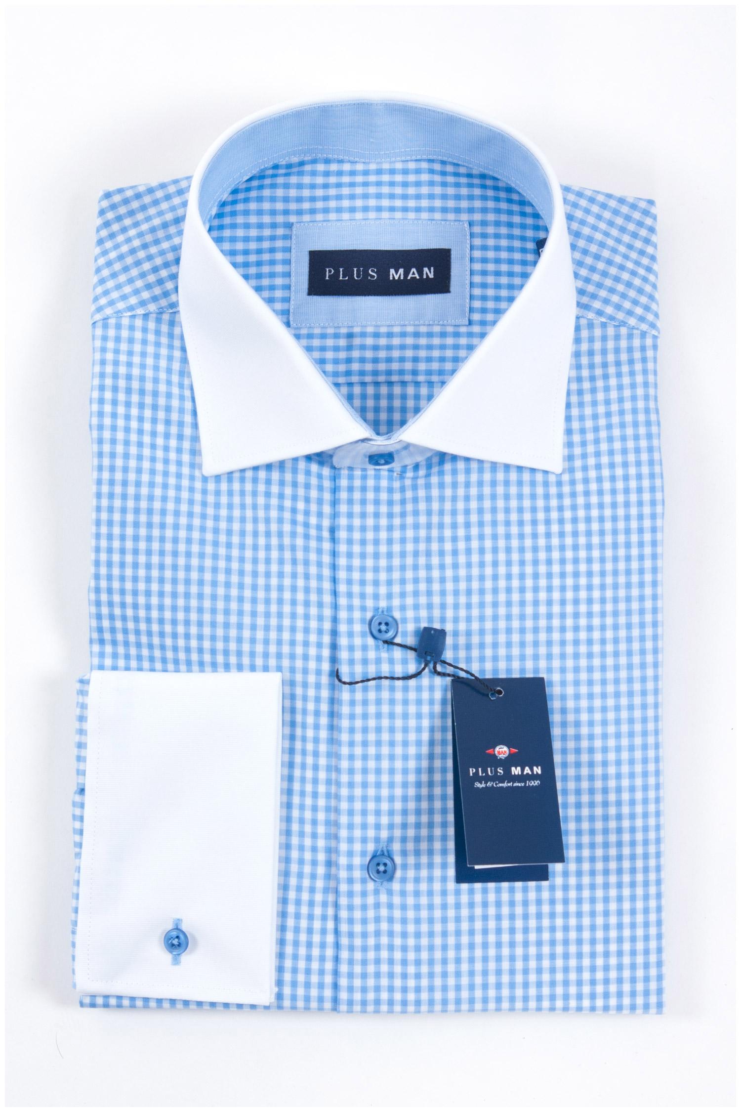 Camisas, Vestir Manga Larga, 107967, CELESTE | Zoom